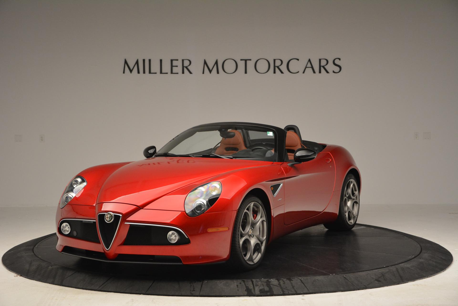 used 2009 alfa romeo 8c spider greenwich ct. Black Bedroom Furniture Sets. Home Design Ideas