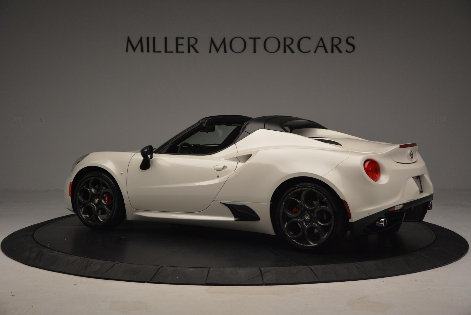New 2015 Alfa Romeo 4c Spider Greenwich Ct
