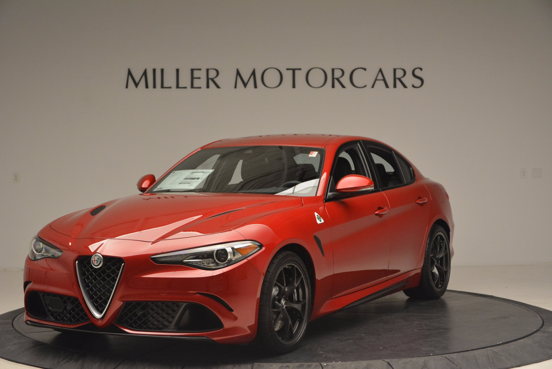 new 2017 alfa romeo giulia quadrifoglio quadrifoglio greenwich ct. Black Bedroom Furniture Sets. Home Design Ideas