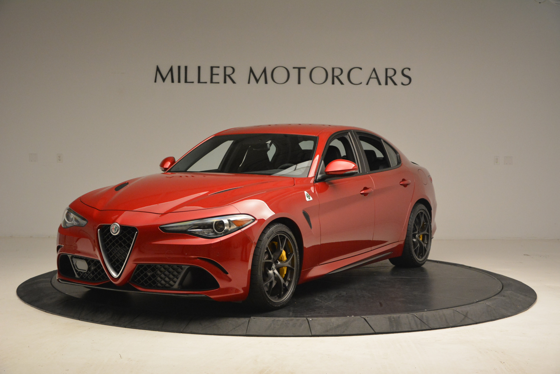 used 2017 alfa romeo giulia quadrifoglio greenwich ct. Black Bedroom Furniture Sets. Home Design Ideas