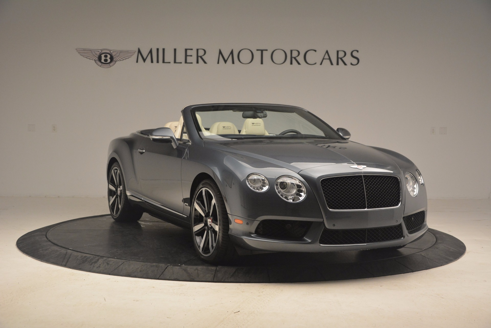 2013 Bentley Continental GT V8 Le Mans Edition 1 of 48 Stock 7226