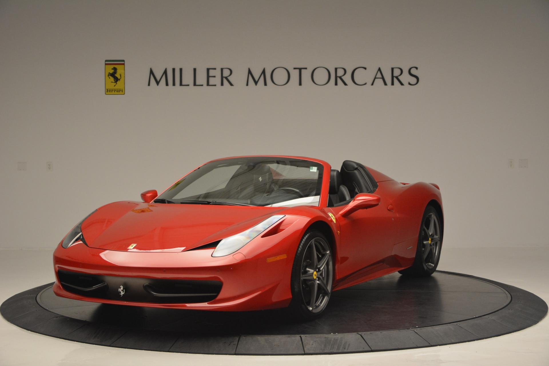 used 2013 ferrari 458 spider greenwich ct. Black Bedroom Furniture Sets. Home Design Ideas