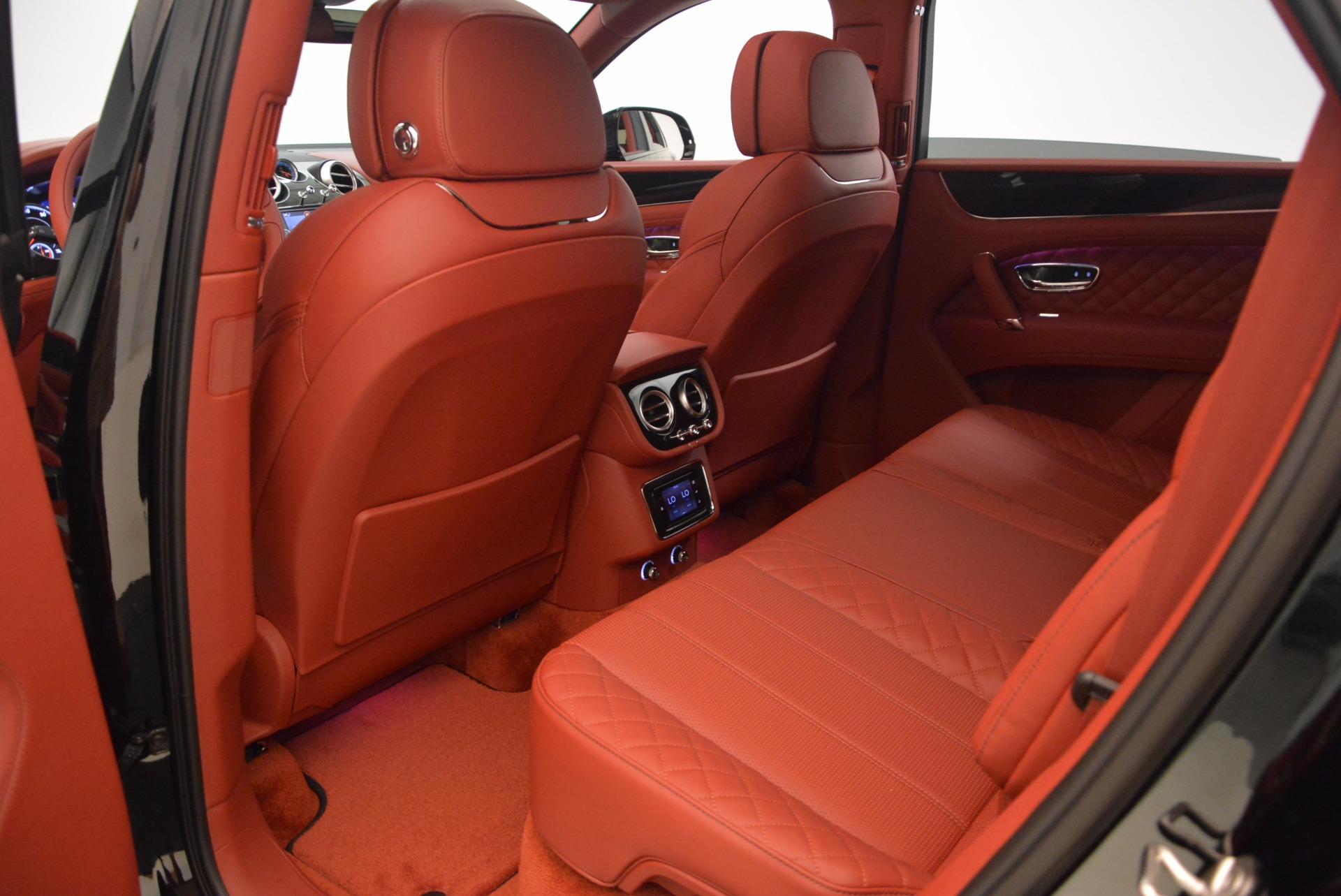 2018 bentley bentayga interior. plain bentley new 2018 bentley bentayga black edition  greenwich ct and bentley bentayga interior