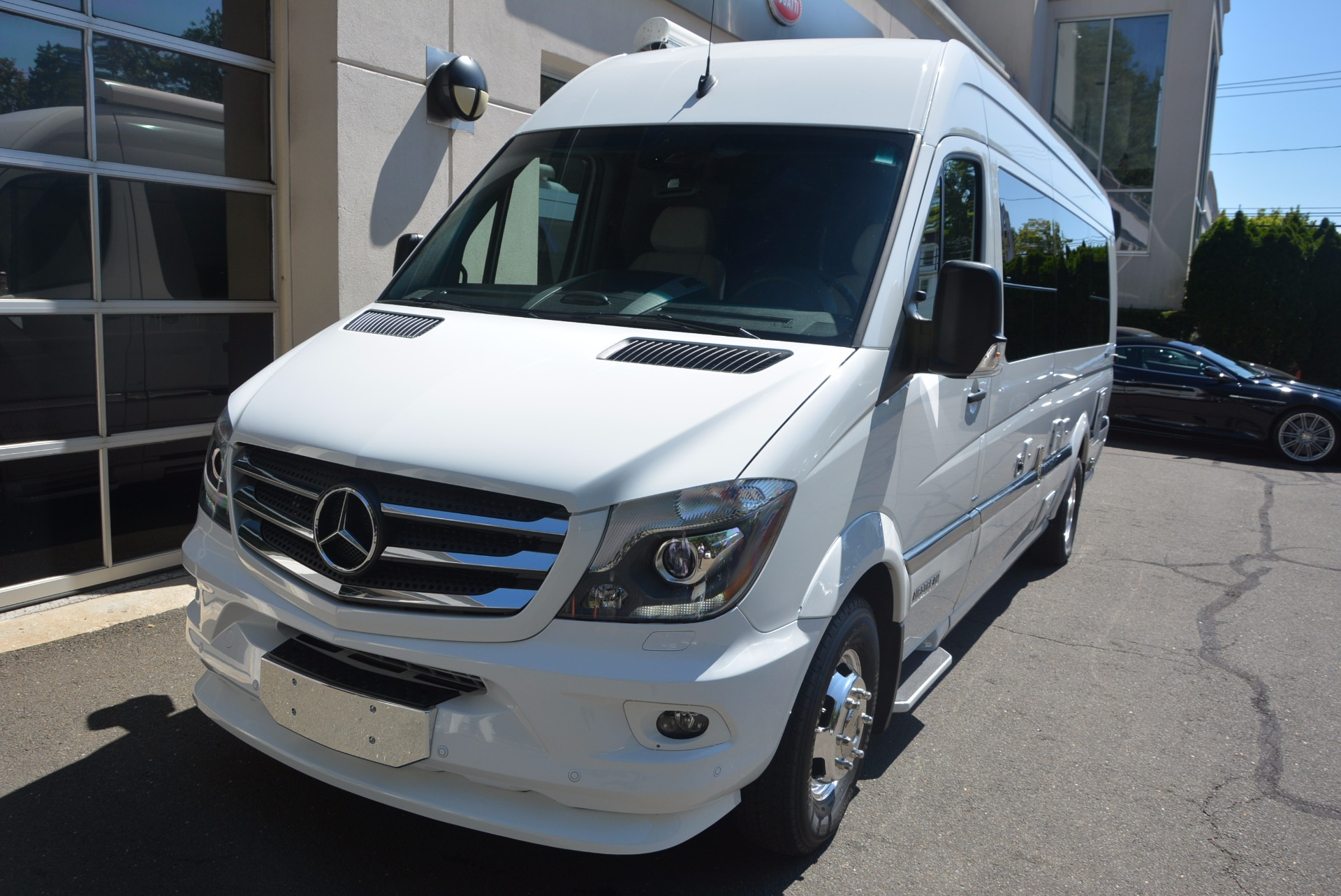 Used 2016 mercedes benz sprinter 3500 airstream interstate for Mercedes benz greenwich ct