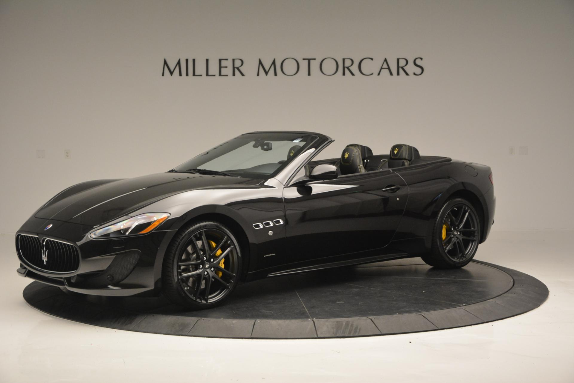 New 2017 Maserati Granturismo Convertible Sport Greenwich Ct