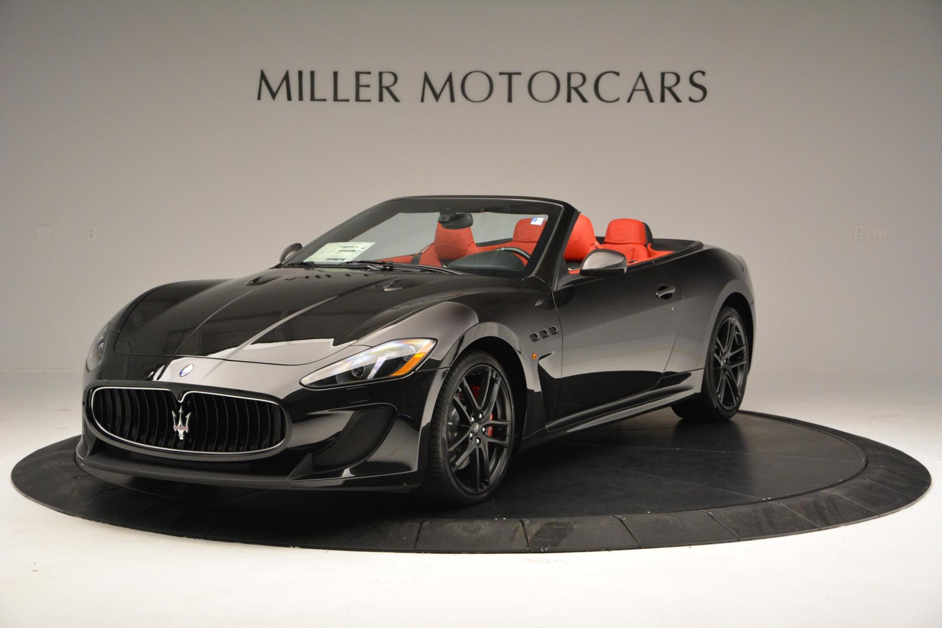 New 2016 maserati granturismo convertible mc greenwich ct - Maserati granturismo red interior ...