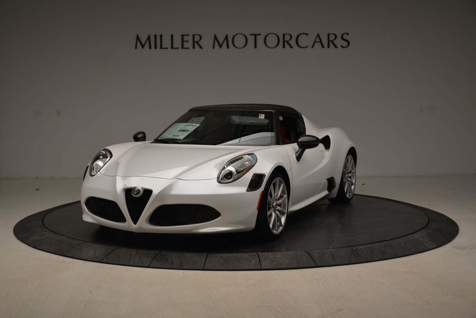 new 2018 alfa romeo 4c spider greenwich ct. Black Bedroom Furniture Sets. Home Design Ideas