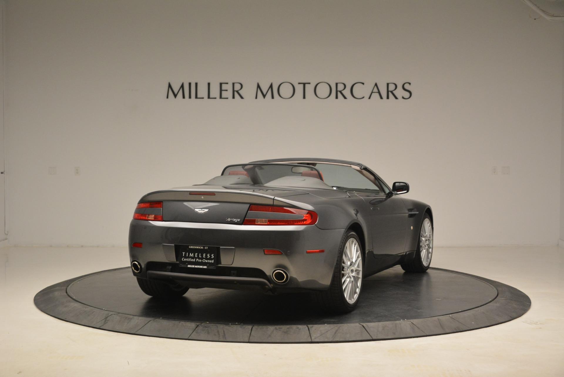 Used 2009 Aston Martin V8 Vantage Roadster | Greenwich, CT