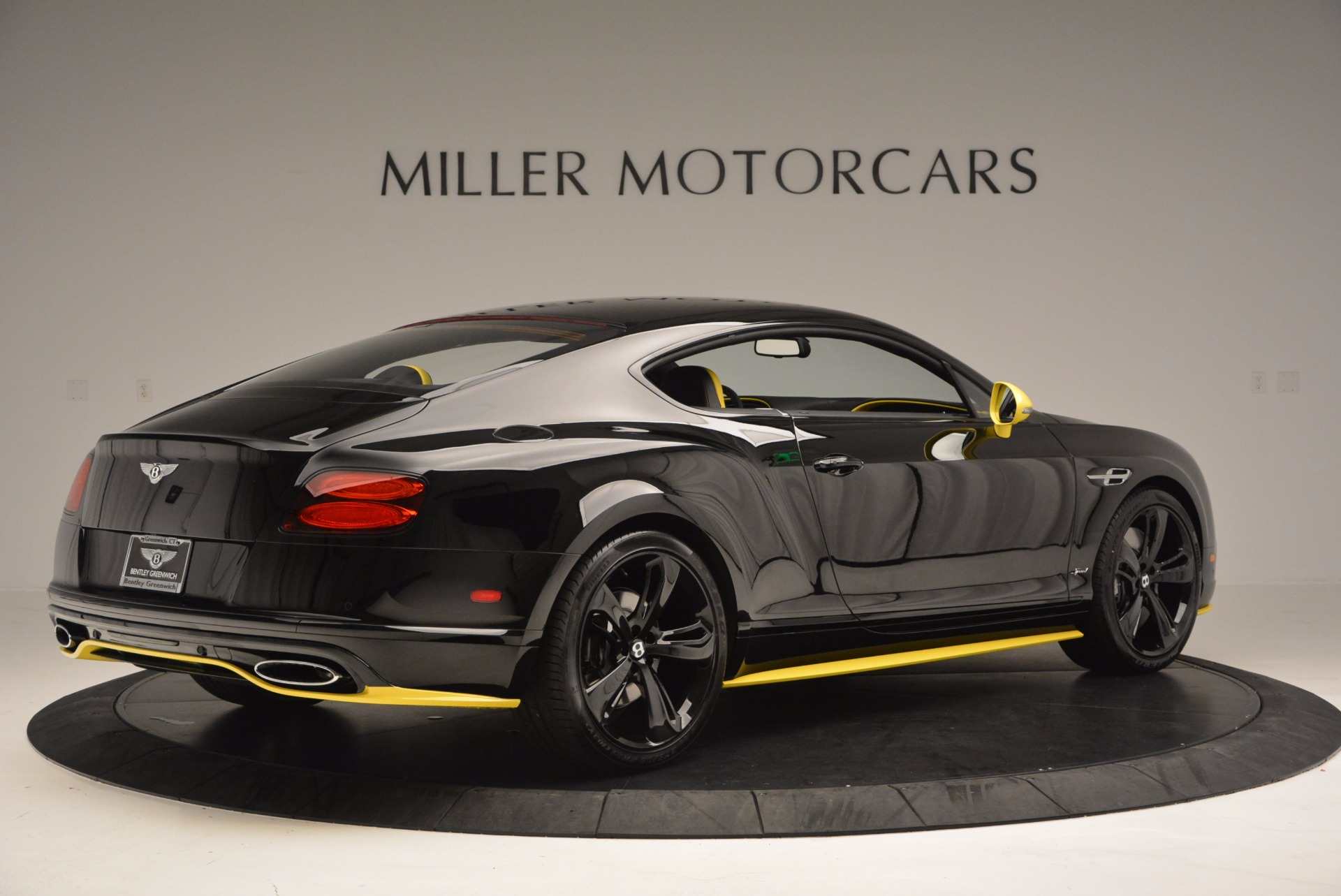 Bentley continental gt black speed limited edition extravaganzi.