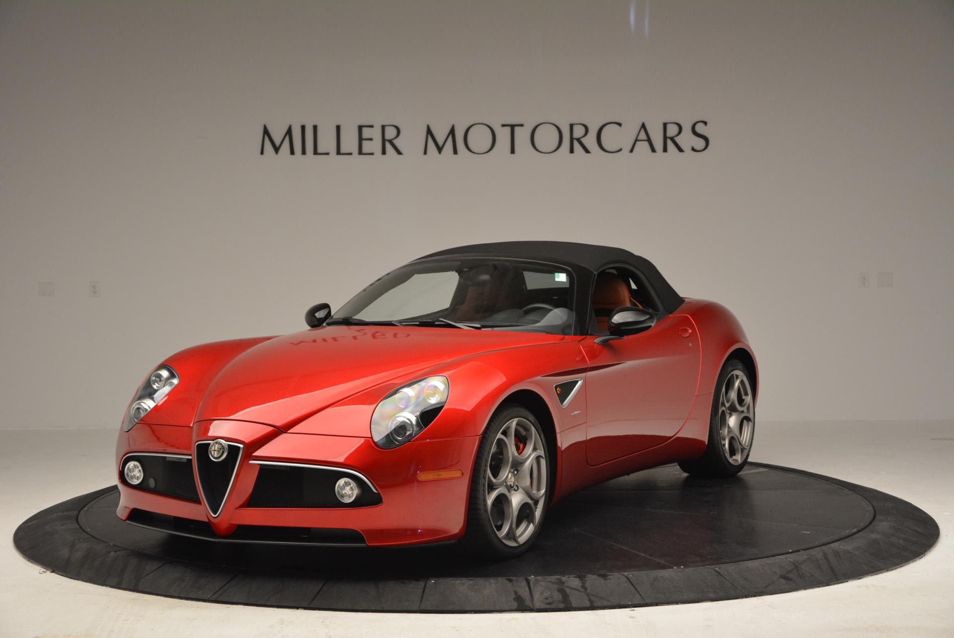 Used-2009-Alfa-Romeo-8C-Competizione-Spider