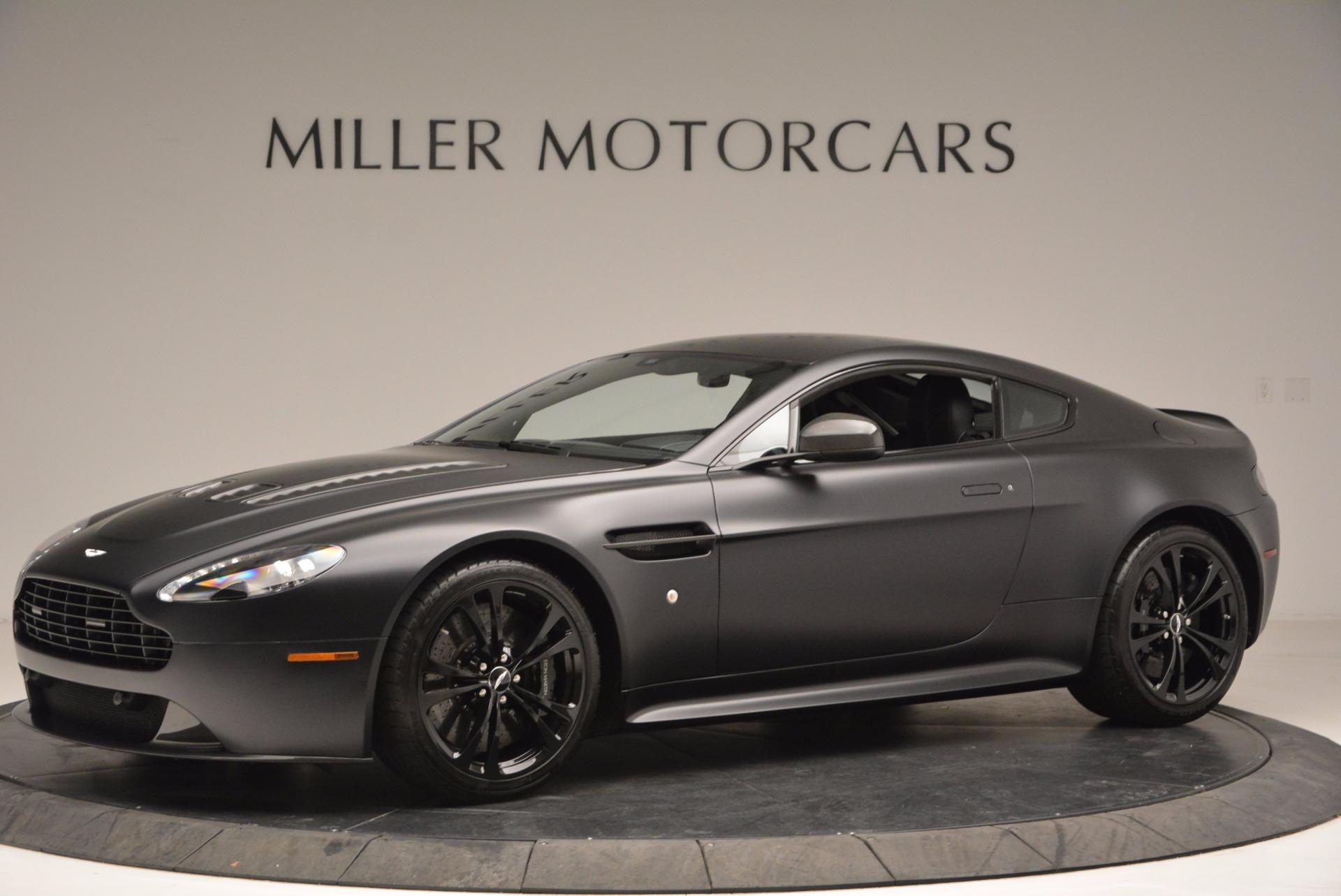 Pre Owned 2012 Aston Martin V12 Vantage Carbon Black For Sale