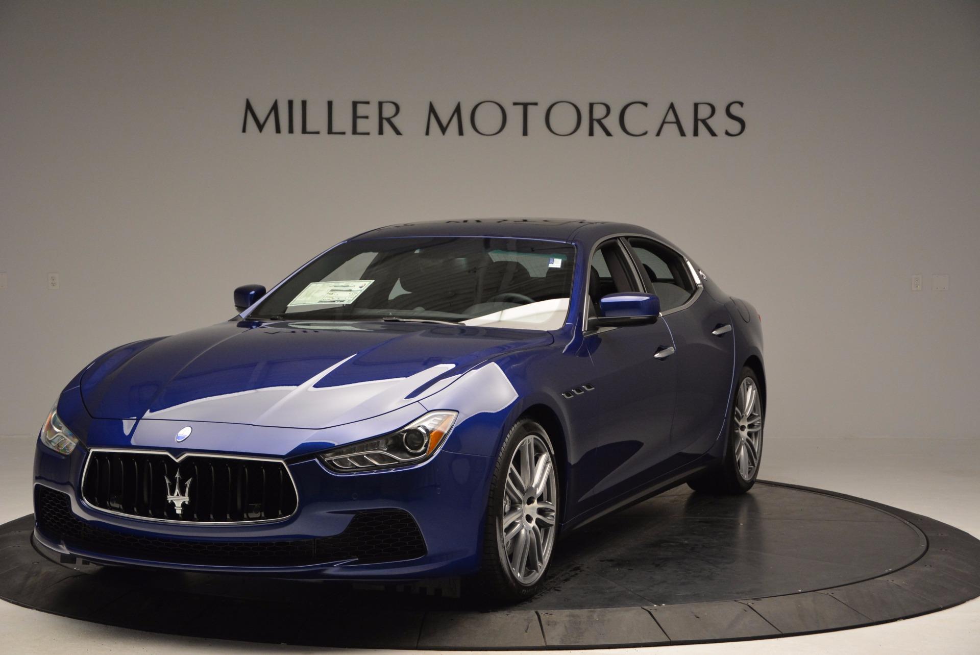 New 2017 Maserati Ghibli S Q4 For Sale () | Miller Motorcars Stock #M1828