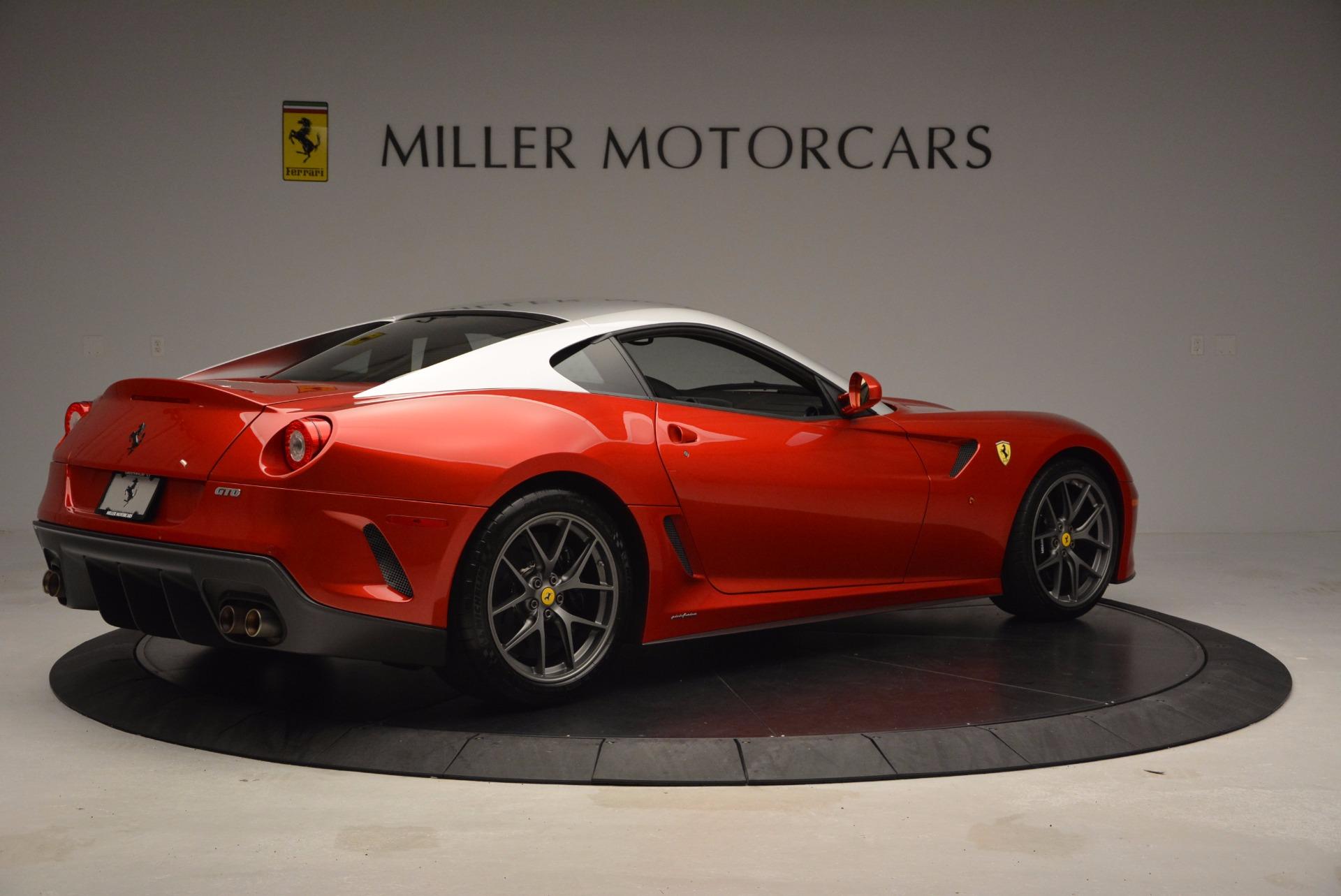 Pre Owned 2011 Ferrari 599 Gto For Sale Miller Motorcars Stock 4395c