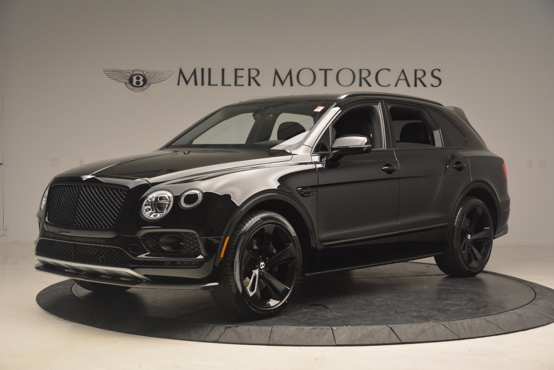 New 2018 Bentley Bentayga Black Edition For Sale Miller Motorcars Stock B1263