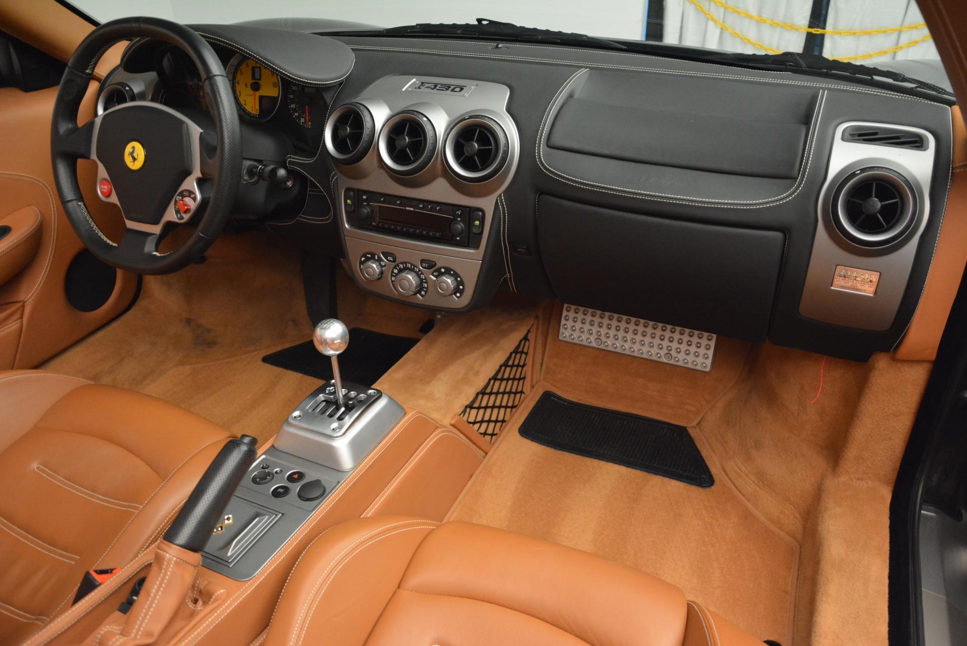 Pre Owned 2005 Ferrari F430 Spider 6 Speed Manual For Sale Miller Motorcars Stock 4290