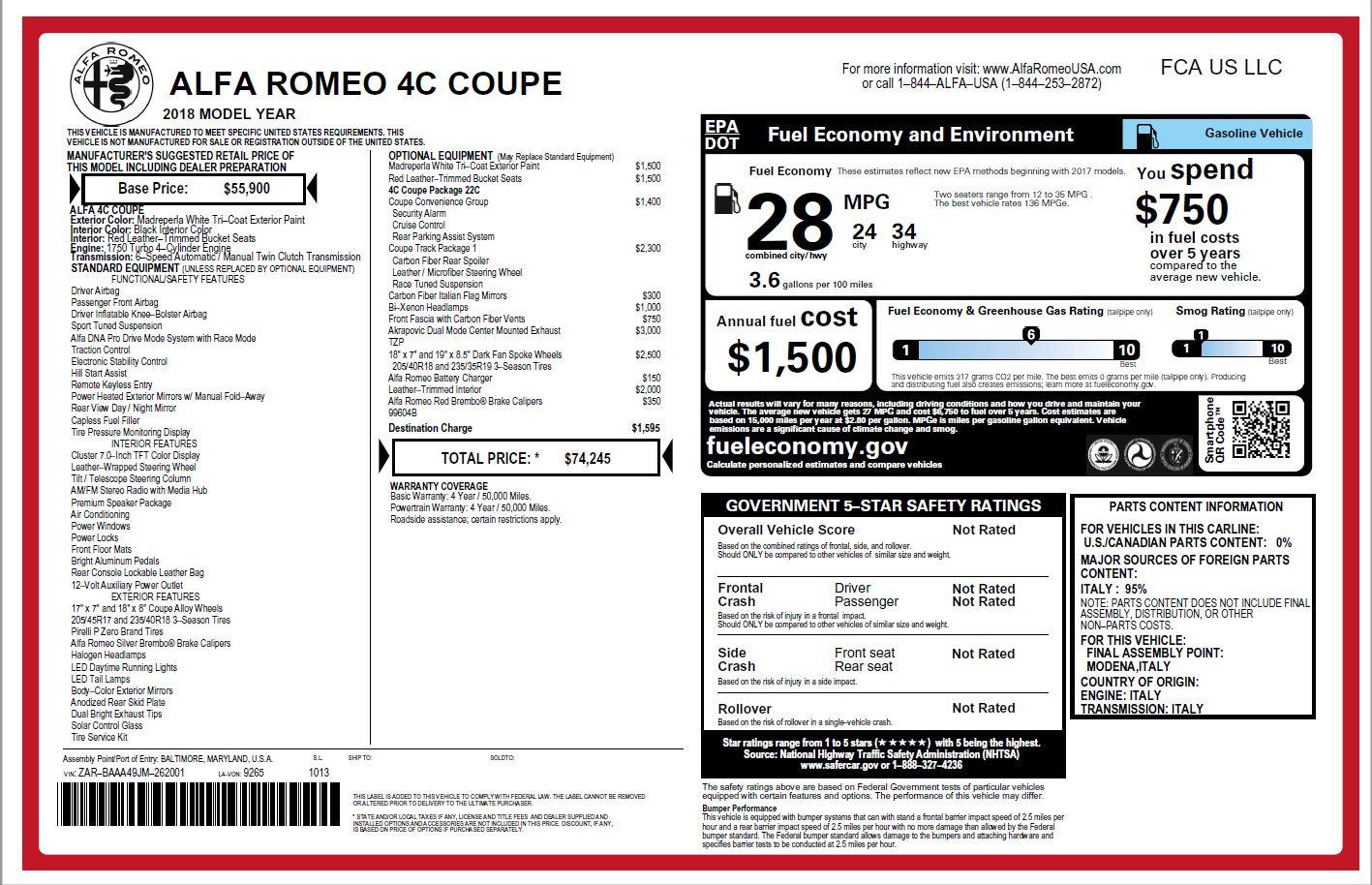 New-2018-Alfa-Romeo-4C-Coupe
