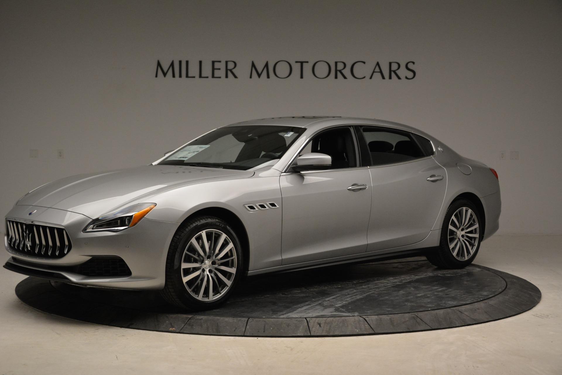 New 2018 Maserati Quattroporte S Q4 For Sale () | Miller Motorcars Stock #M1980