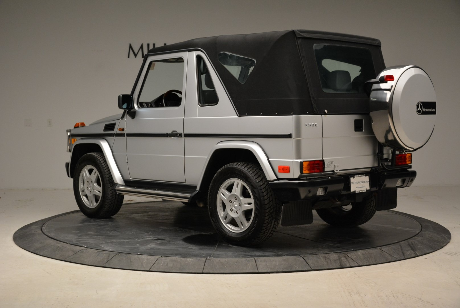 Pre-Owned 1999 Mercedes Benz G500 Cabriolet For Sale ...