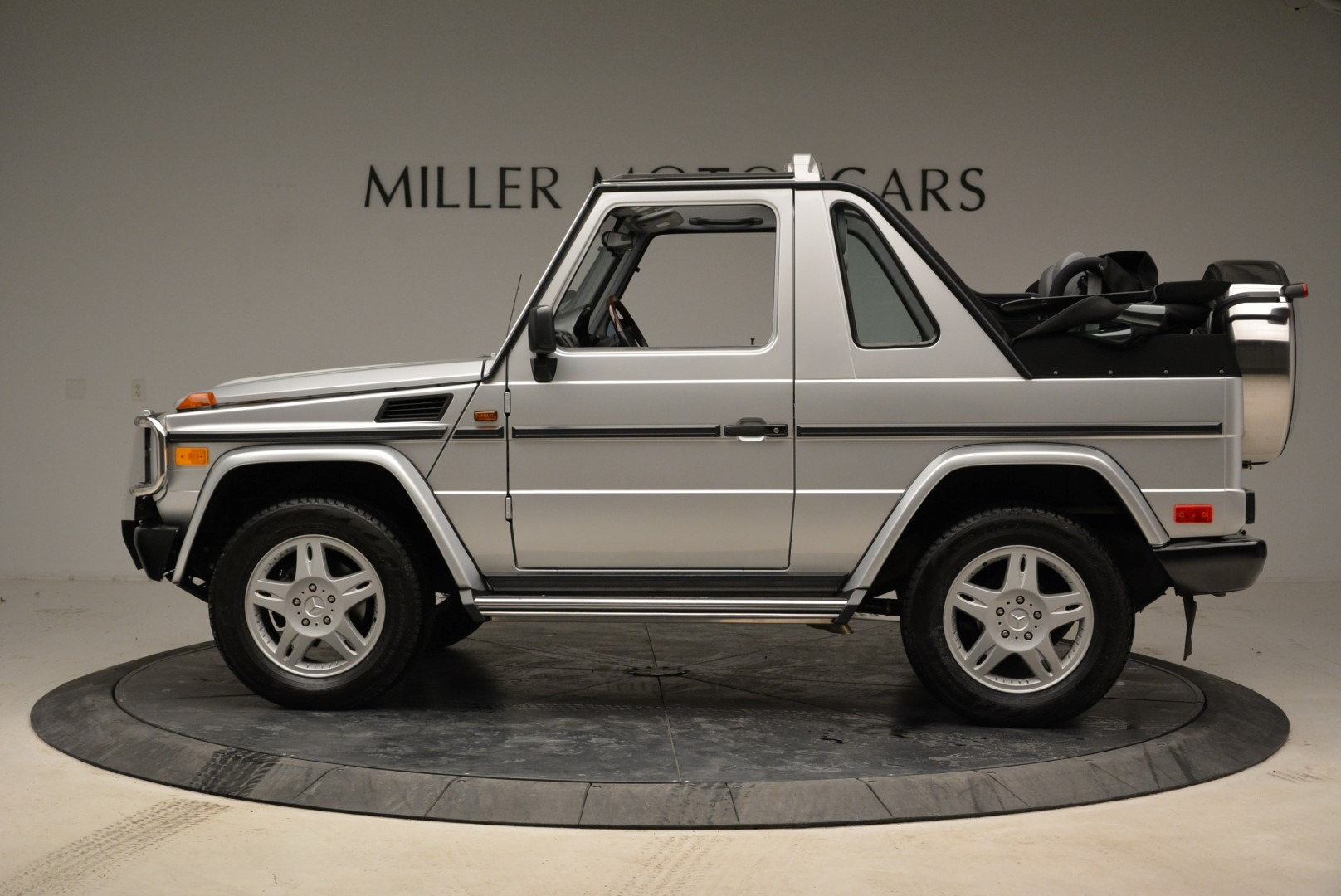 Pre Owned 1999 Mercedes Benz G500 Cabriolet For Sale Miller Motorcars Stock Mc263a