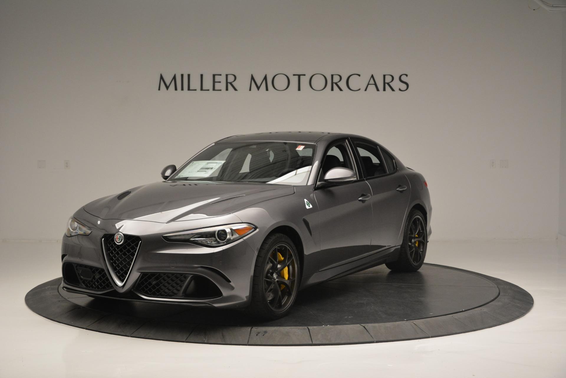 Alfa Romeo Giulia Quadrifoglio >> New 2018 Alfa Romeo Giulia Quadrifoglio For Sale Miller