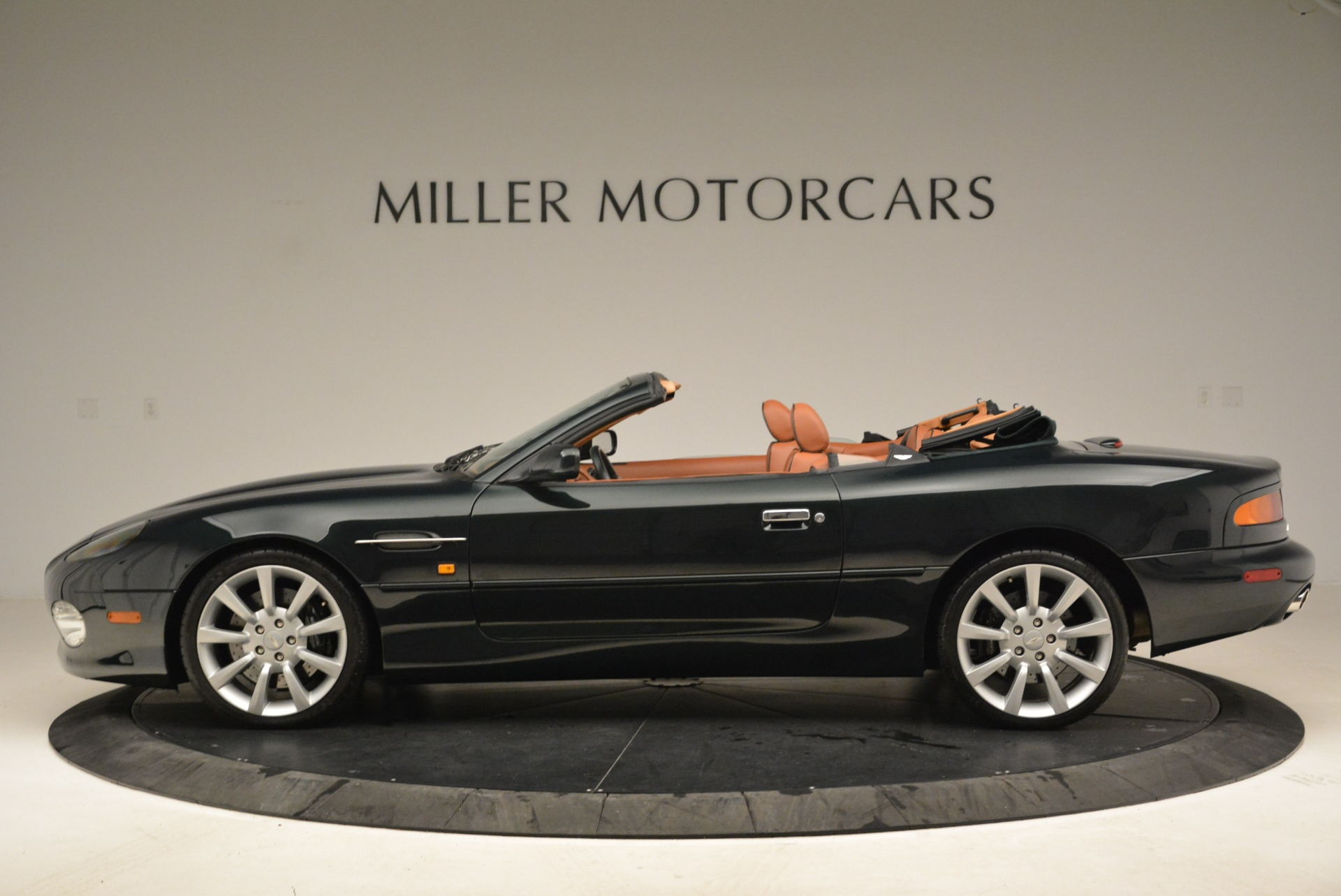 Pre Owned 2003 Aston Martin Db7 Vantage Volante For Sale Miller Motorcars Stock 7307