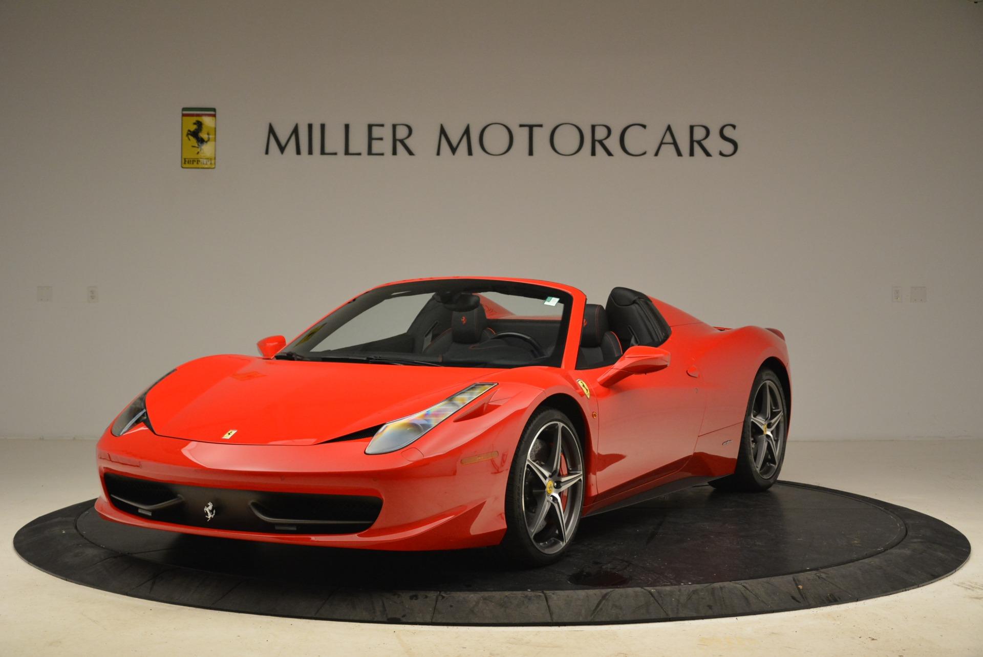 2014 Ferrari 458 Spider >> Used 2014 Ferrari 458 Spider For Sale 229 900 Miller