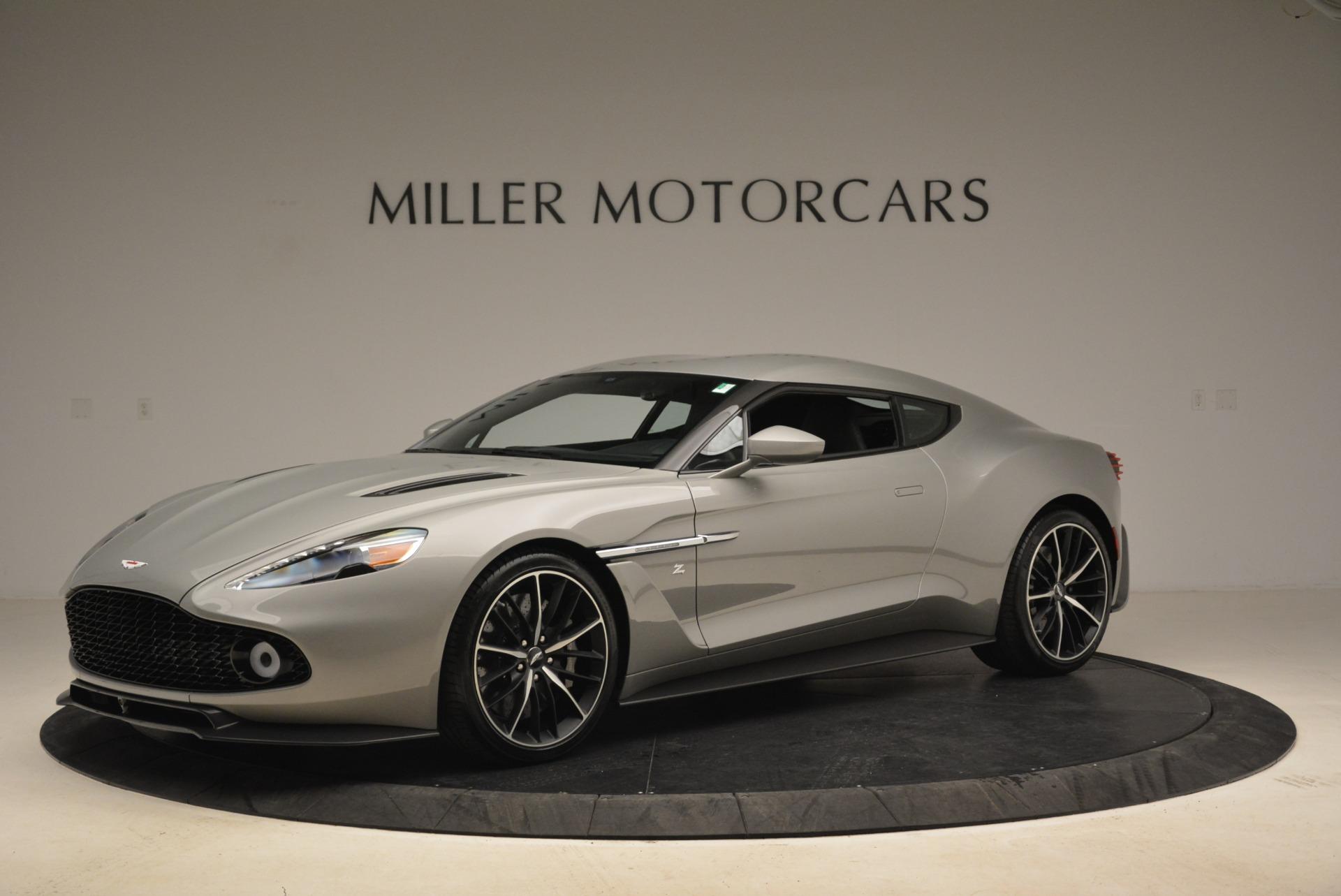 Pre Owned 2018 Aston Martin Vanquish Zagato For Sale Miller Motorcars Stock 7346c
