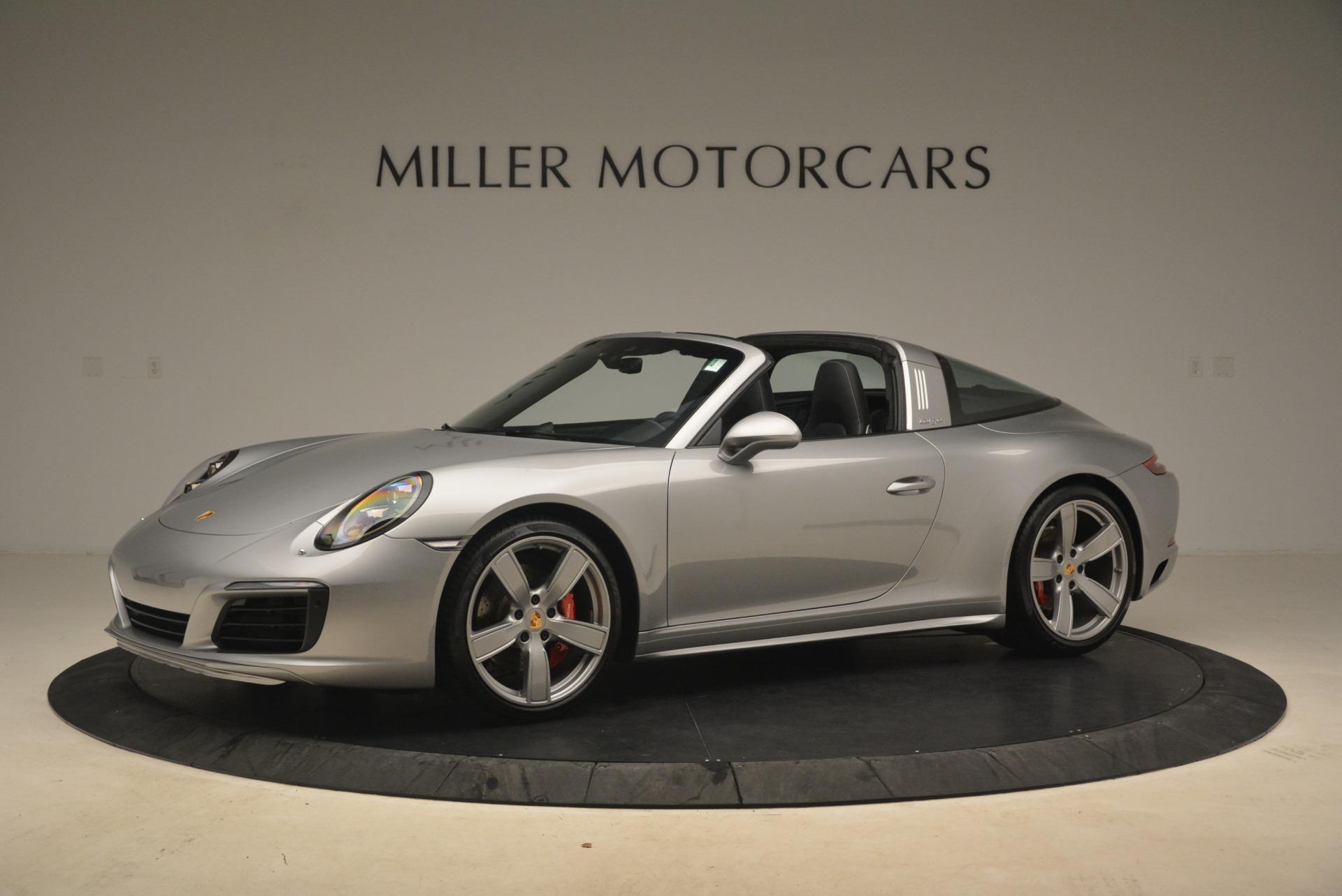 Pre Owned 2017 Porsche 911 Targa 4s For Sale Miller Motorcars Stock 7464