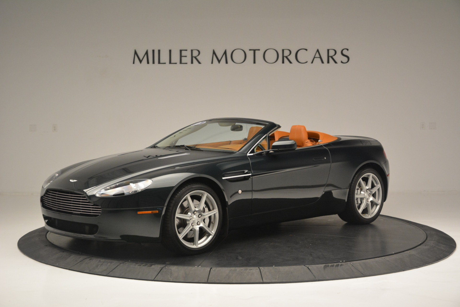 Pre Owned 2008 Aston Martin V8 Vantage Roadster For Sale Miller Motorcars Stock 7403