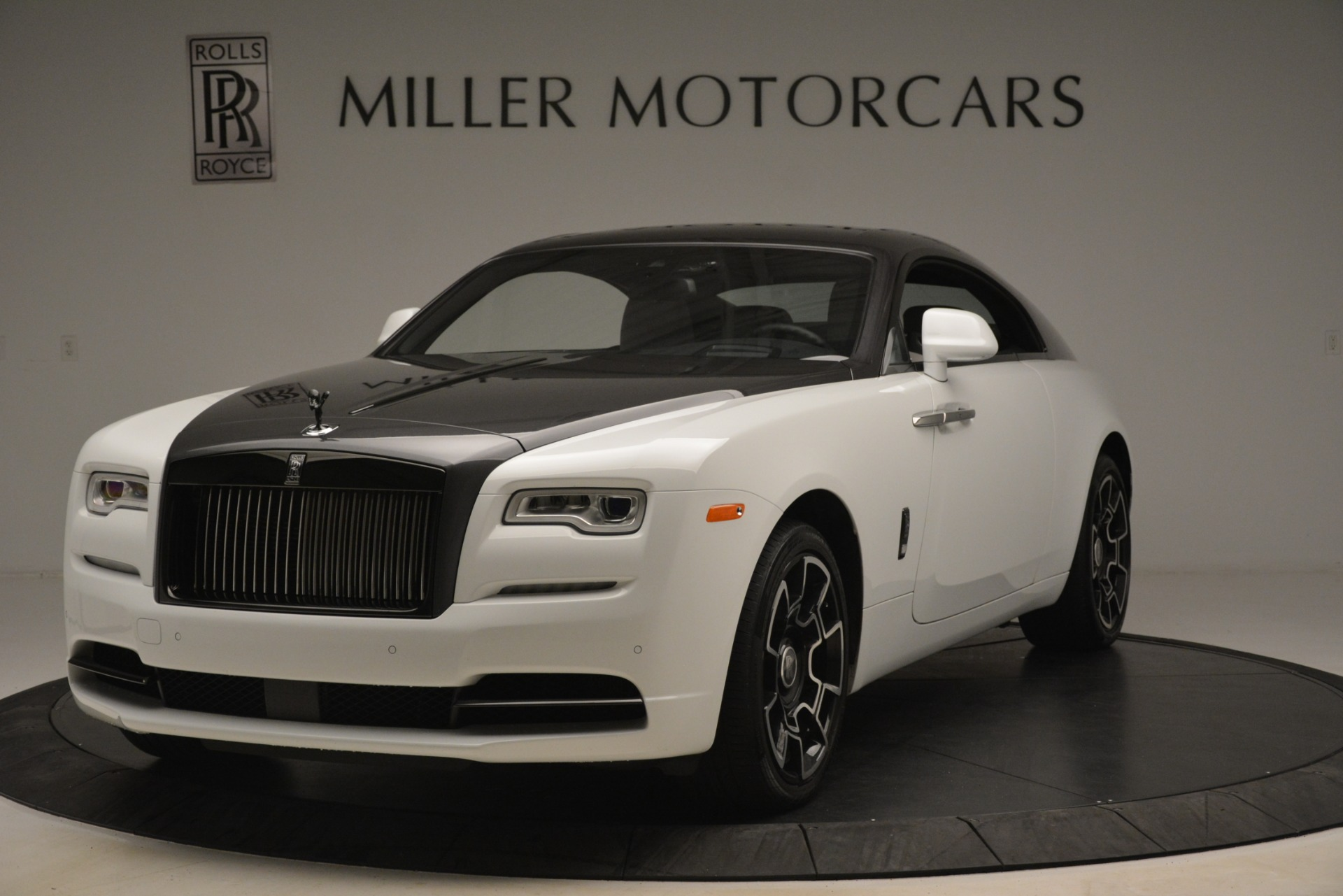 Pre Owned 2018 Rolls Royce Wraith Black Badge Nebula Collection For Sale Miller Motorcars Stock R523