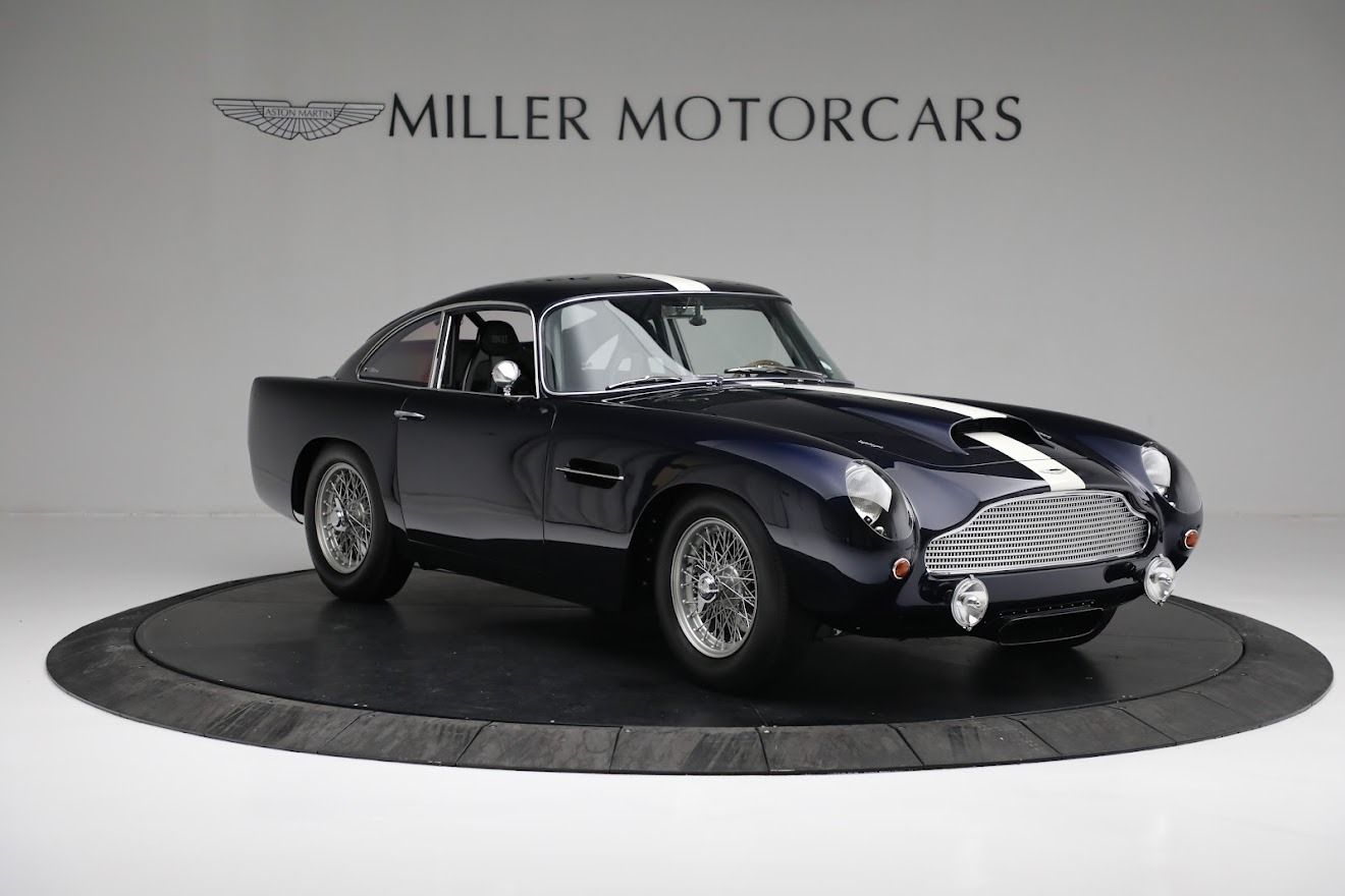 New 2018 Aston Martin Db4 Gt Continuation Coupe For Sale Miller Motorcars Stock A1295