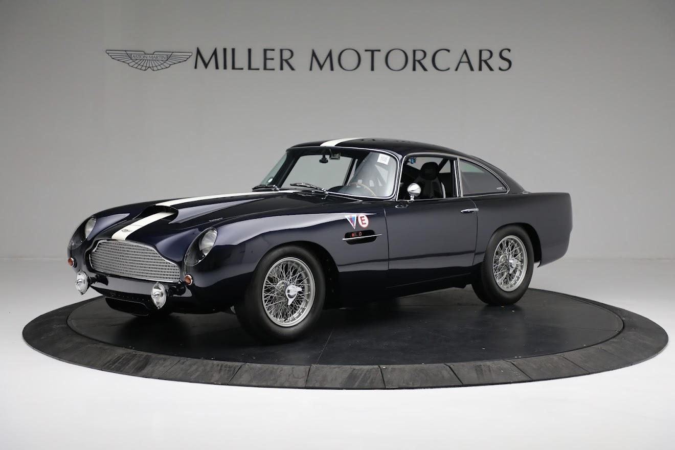 New 2018 Aston Martin Db4 Gt For Sale Miller Motorcars Stock A1295