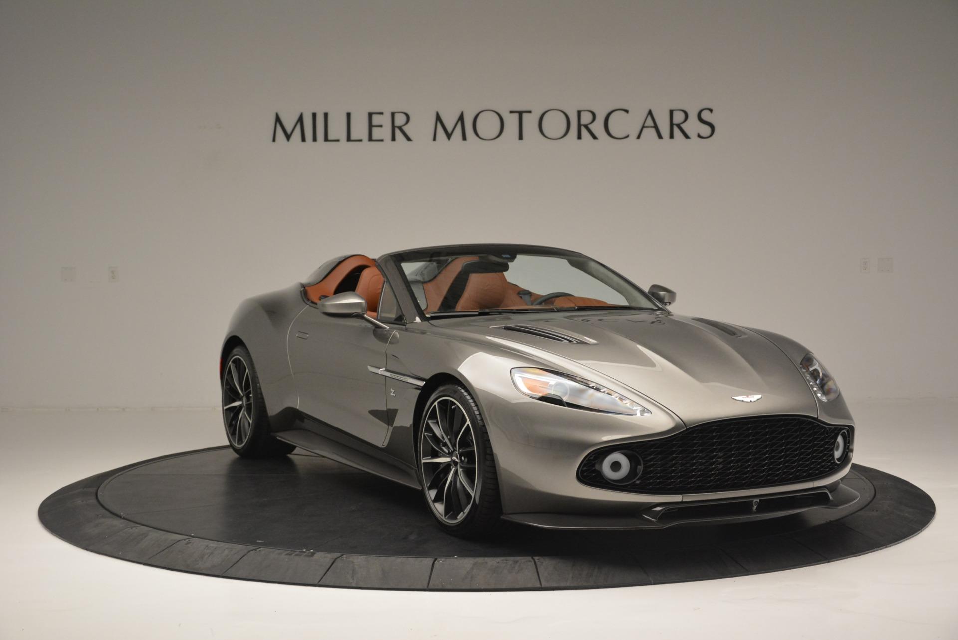 Pre Owned 2018 Aston Martin Zagato Speedster Convertible For Sale 1 550 000 Miller Motorcars Stock 7466c