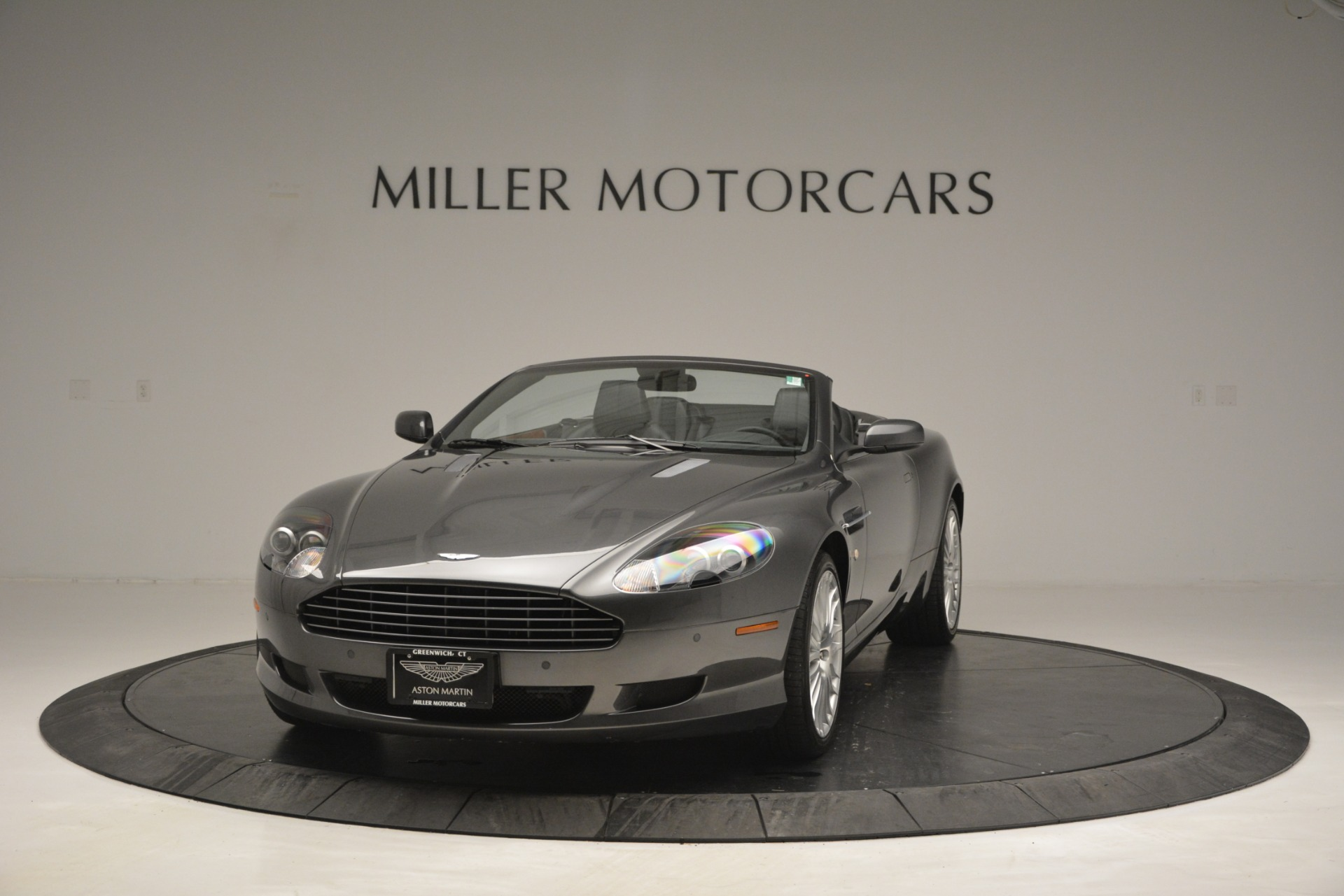 Pre Owned 2009 Aston Martin Db9 Convertible For Sale Miller Motorcars Stock 7468