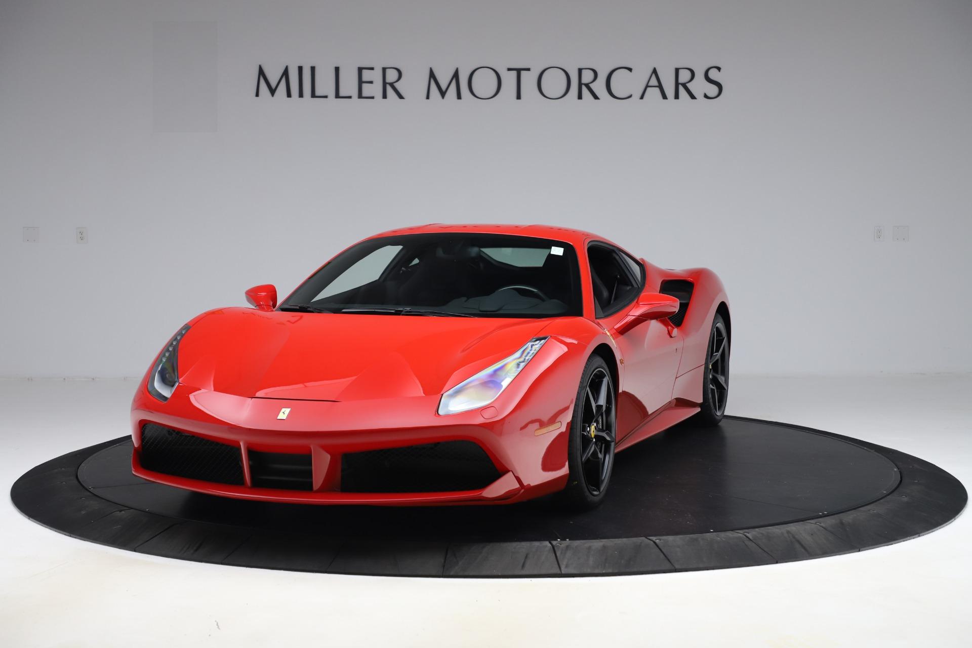 Pre Owned 2018 Ferrari 488 Gtb For Sale Miller Motorcars Stock F1955