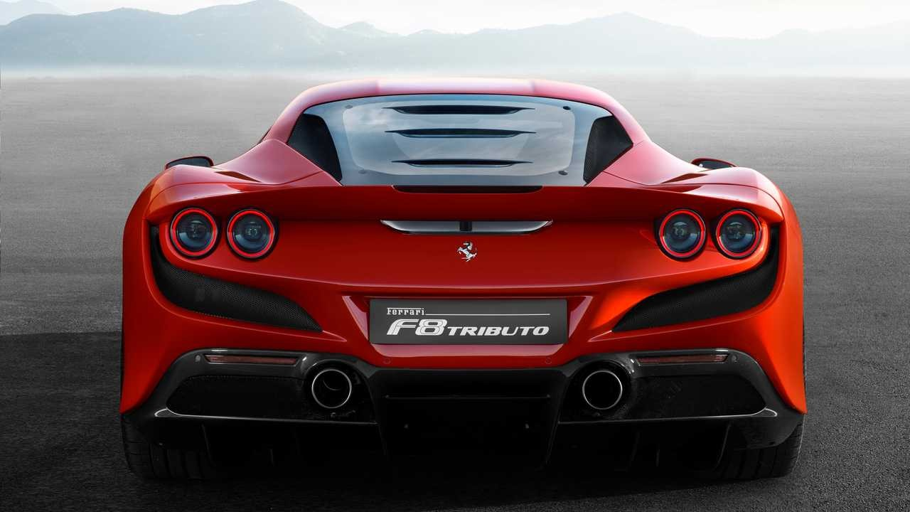 New 2020 Ferrari F8 Tributo For Sale Miller Motorcars