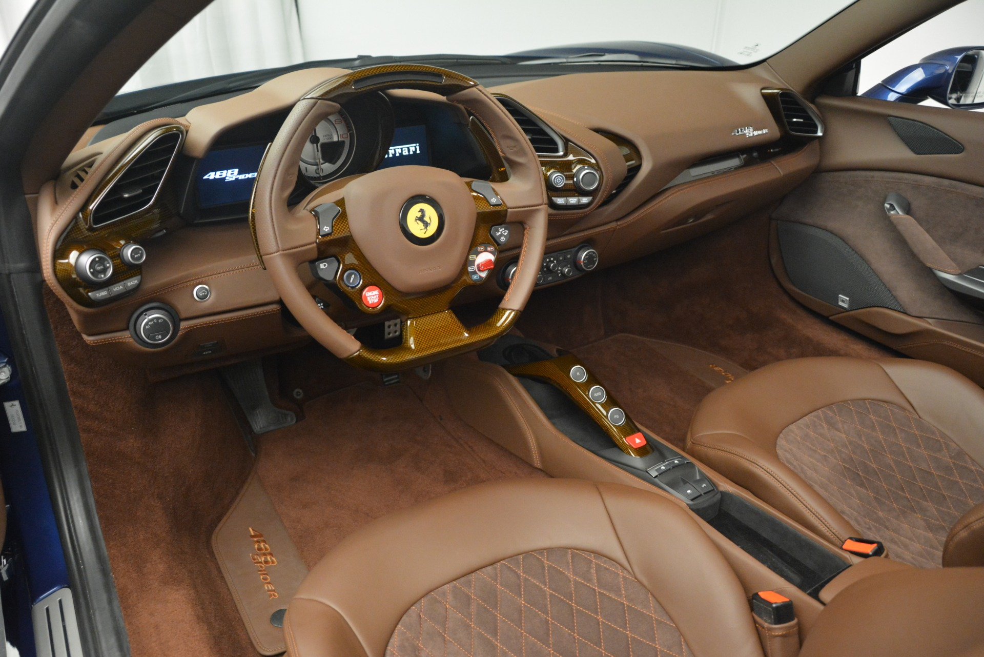 Pre Owned 2018 Ferrari 488 Spider For Sale Miller Motorcars Stock 4702c