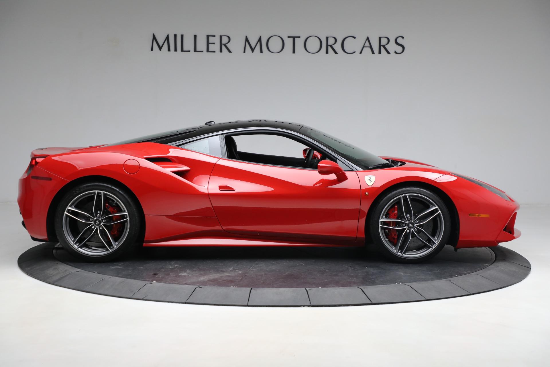 Pre Owned 2018 Ferrari 488 Gtb For Sale Miller Motorcars Stock F1995a