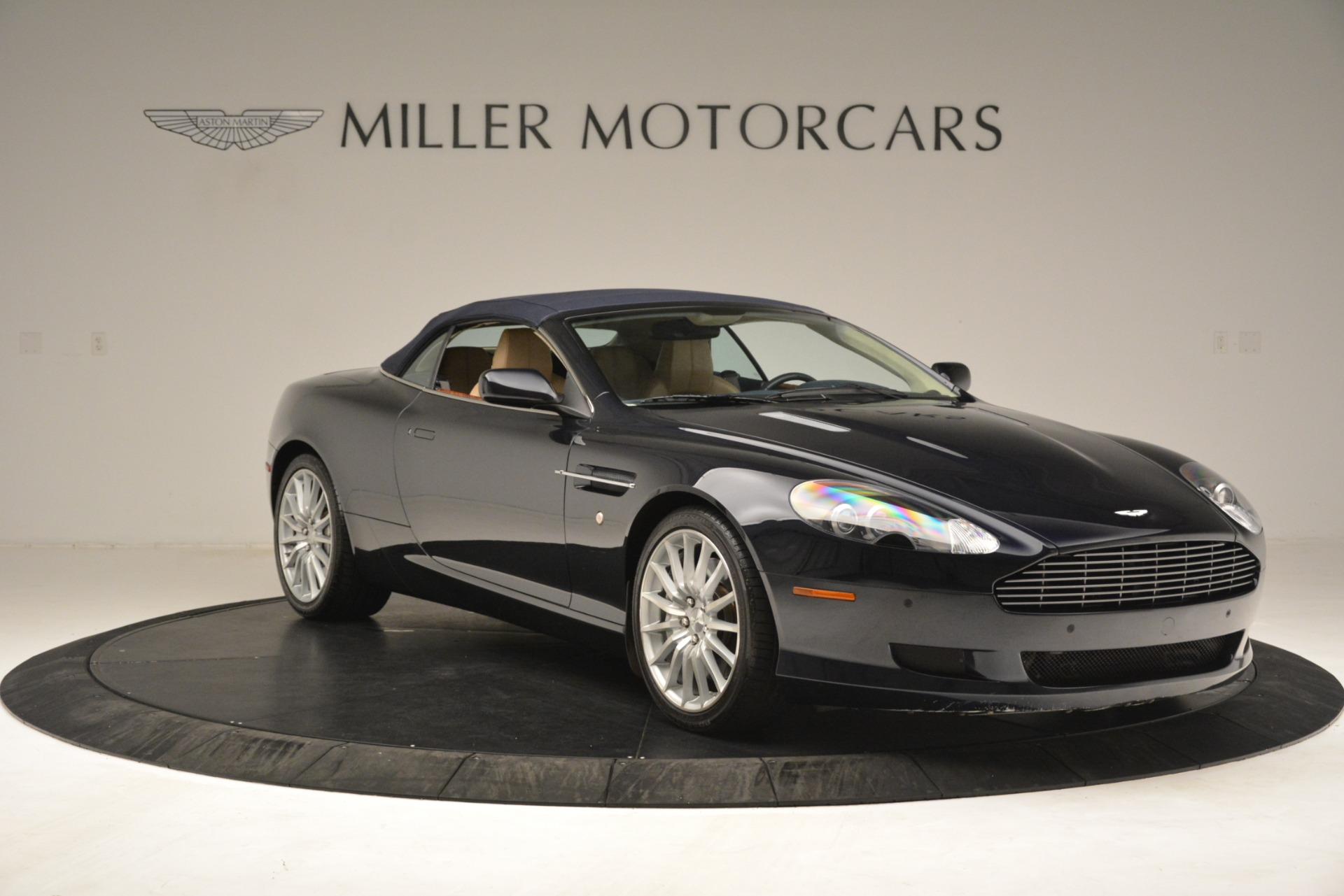 Pre Owned 2007 Aston Martin Db9 Convertible For Sale 67 900 Miller Motorcars Stock A1378a