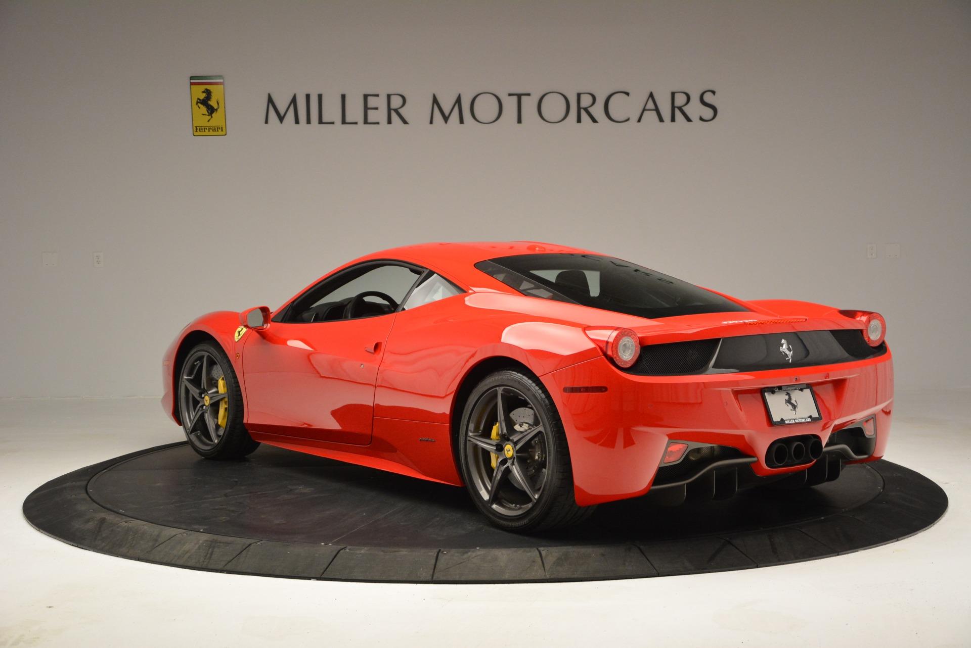 Pre Owned 2013 Ferrari 458 Italia For Sale Miller Motorcars Stock 4586a