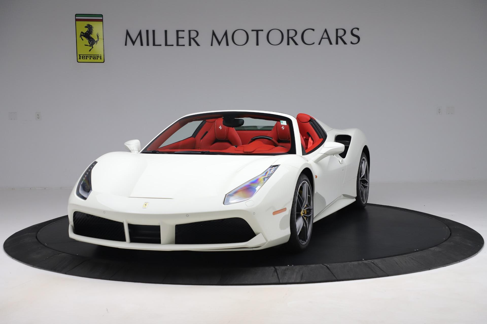 Pre Owned 2018 Ferrari 488 Spider For Sale 298 900 Miller Motorcars Stock 4626