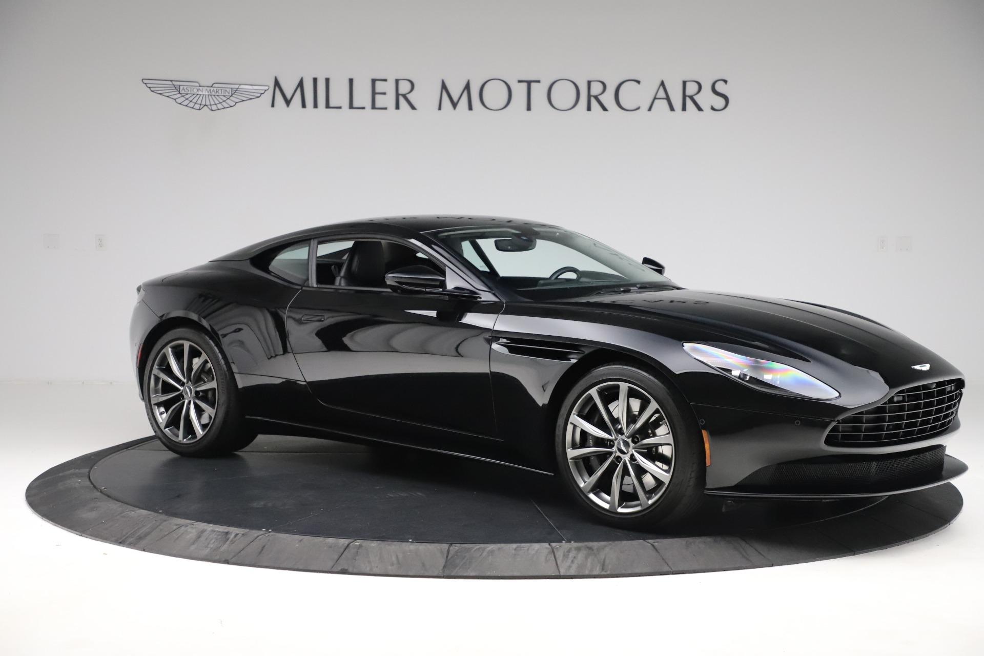 Pre Owned 2018 Aston Martin Db11 V8 For Sale Miller Motorcars Stock 7675