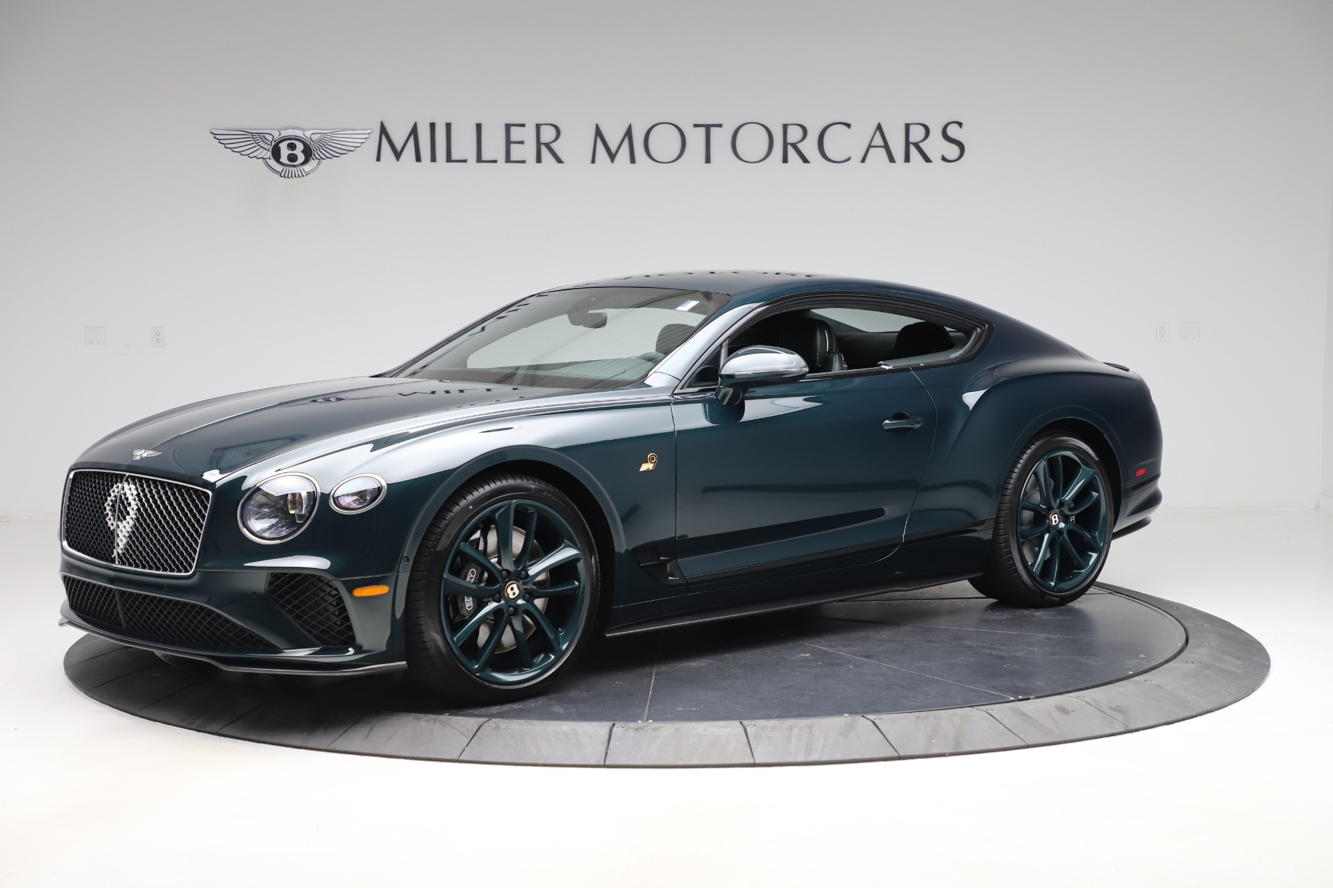 New 2020 Bentley Continental Gt W12 Number 9 For Sale Miller Motorcars Stock B1479