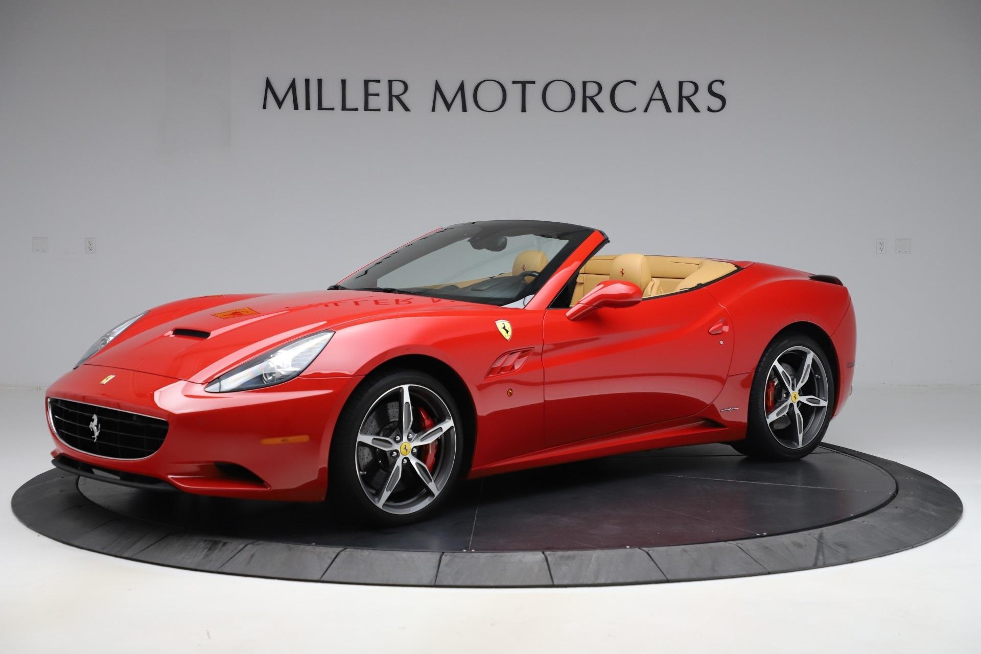 Pre Owned 2014 Ferrari California 30 For Sale Miller Motorcars Stock 4657