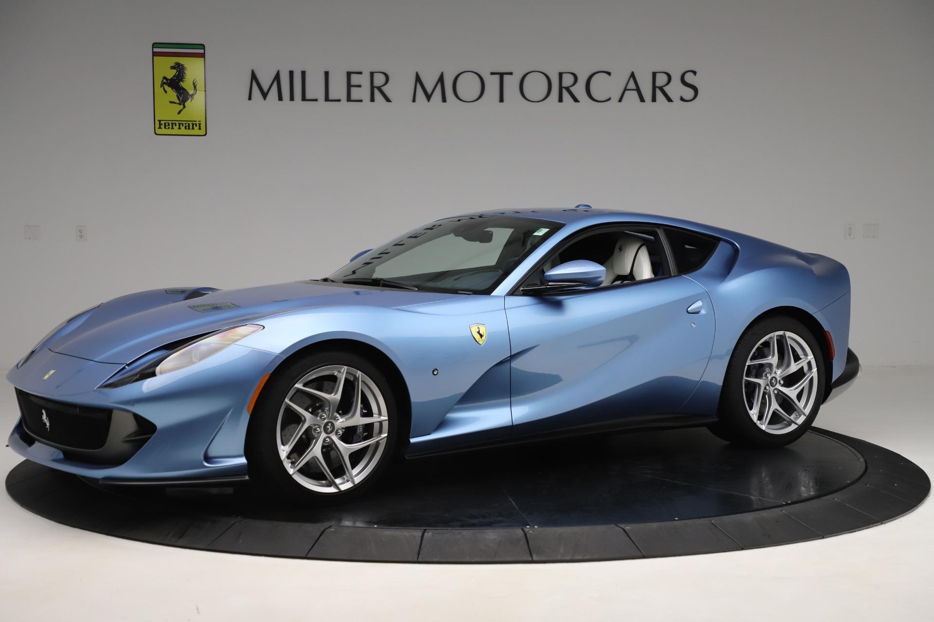 Pre Owned 2020 Ferrari 812 Superfast For Sale Miller Motorcars Stock 4670