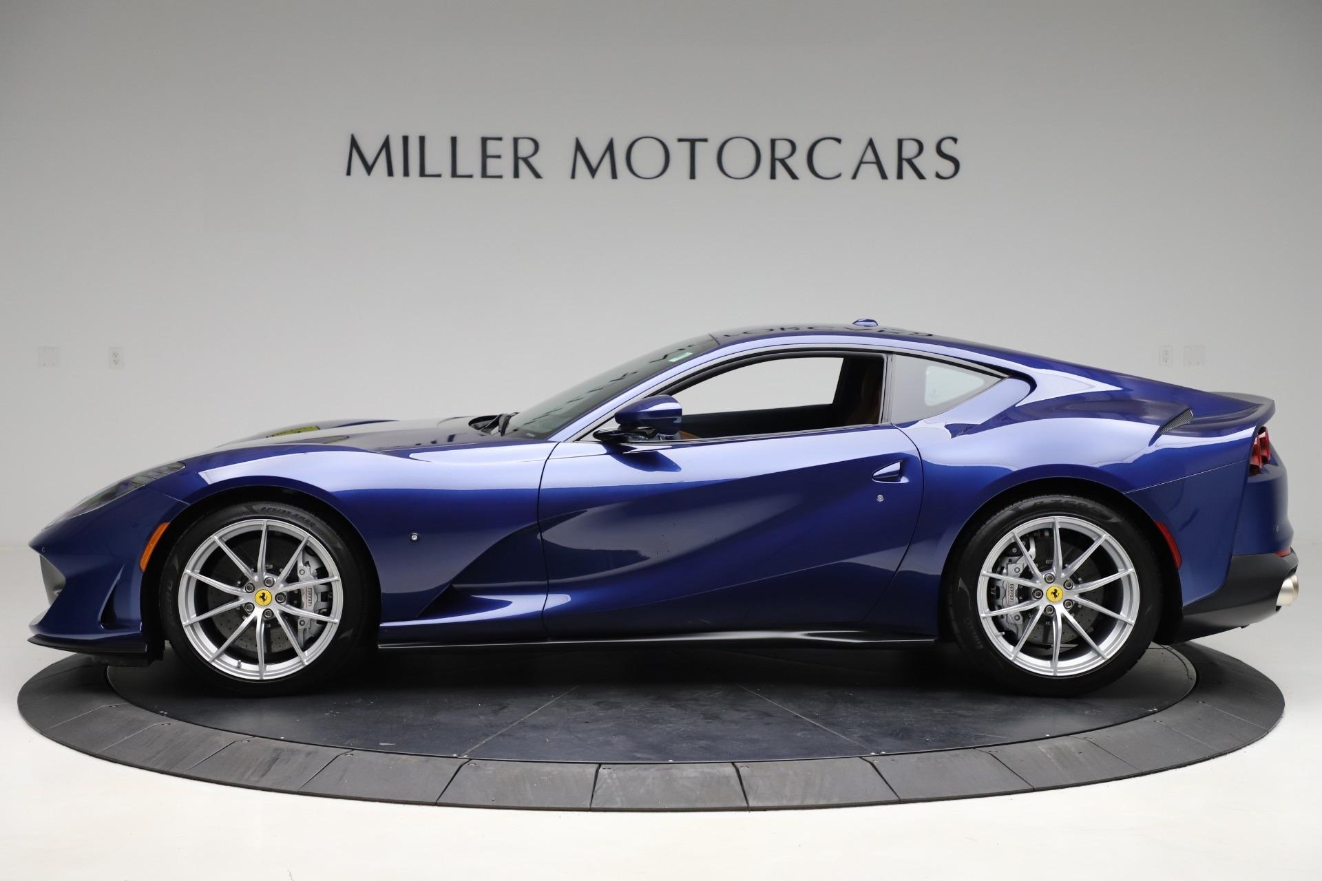 Pre Owned 2020 Ferrari 812 Superfast For Sale Miller Motorcars Stock 4666