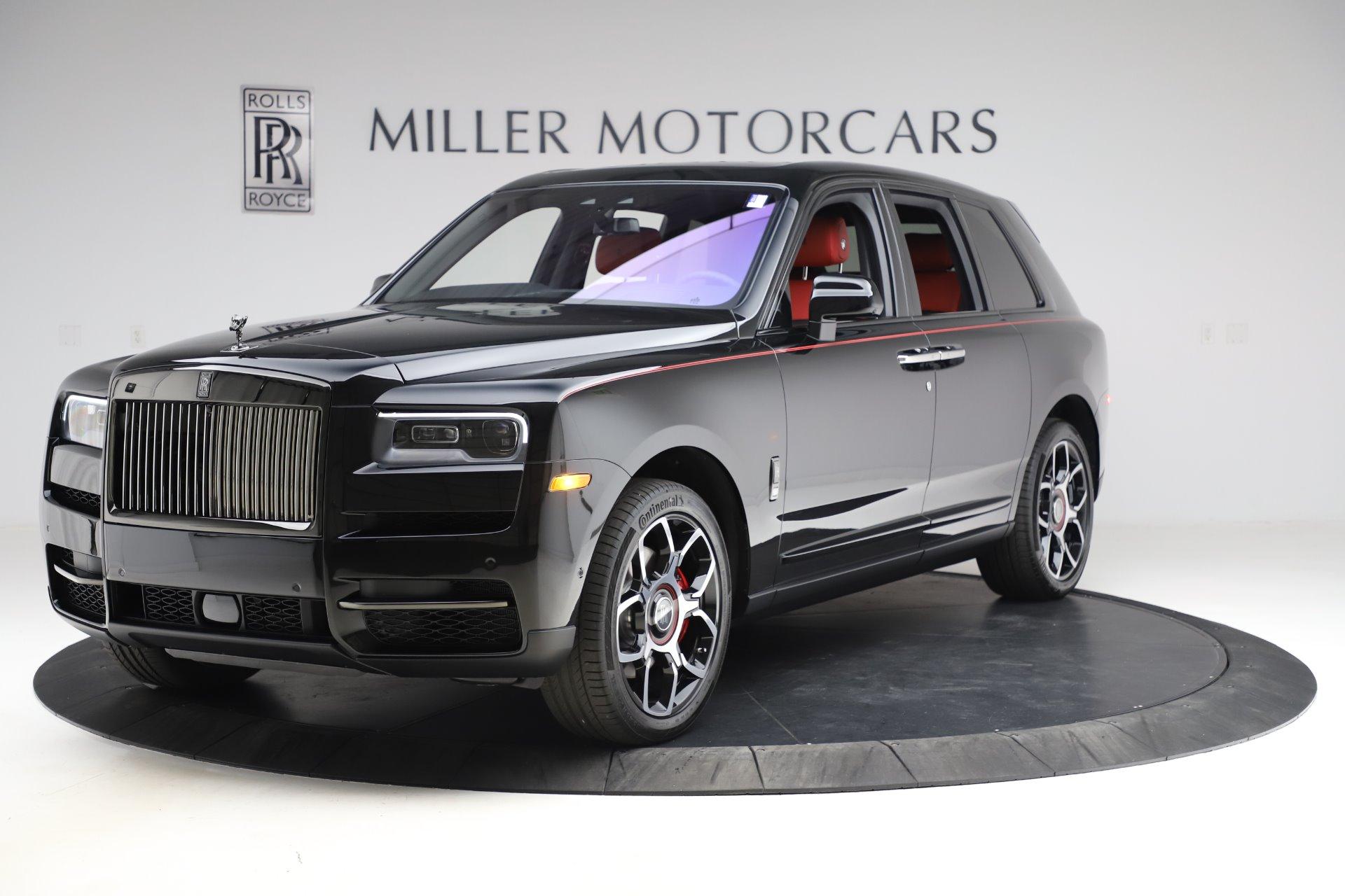 New 2020 Rolls Royce Cullinan Black Badge For Sale Miller Motorcars Stock R562