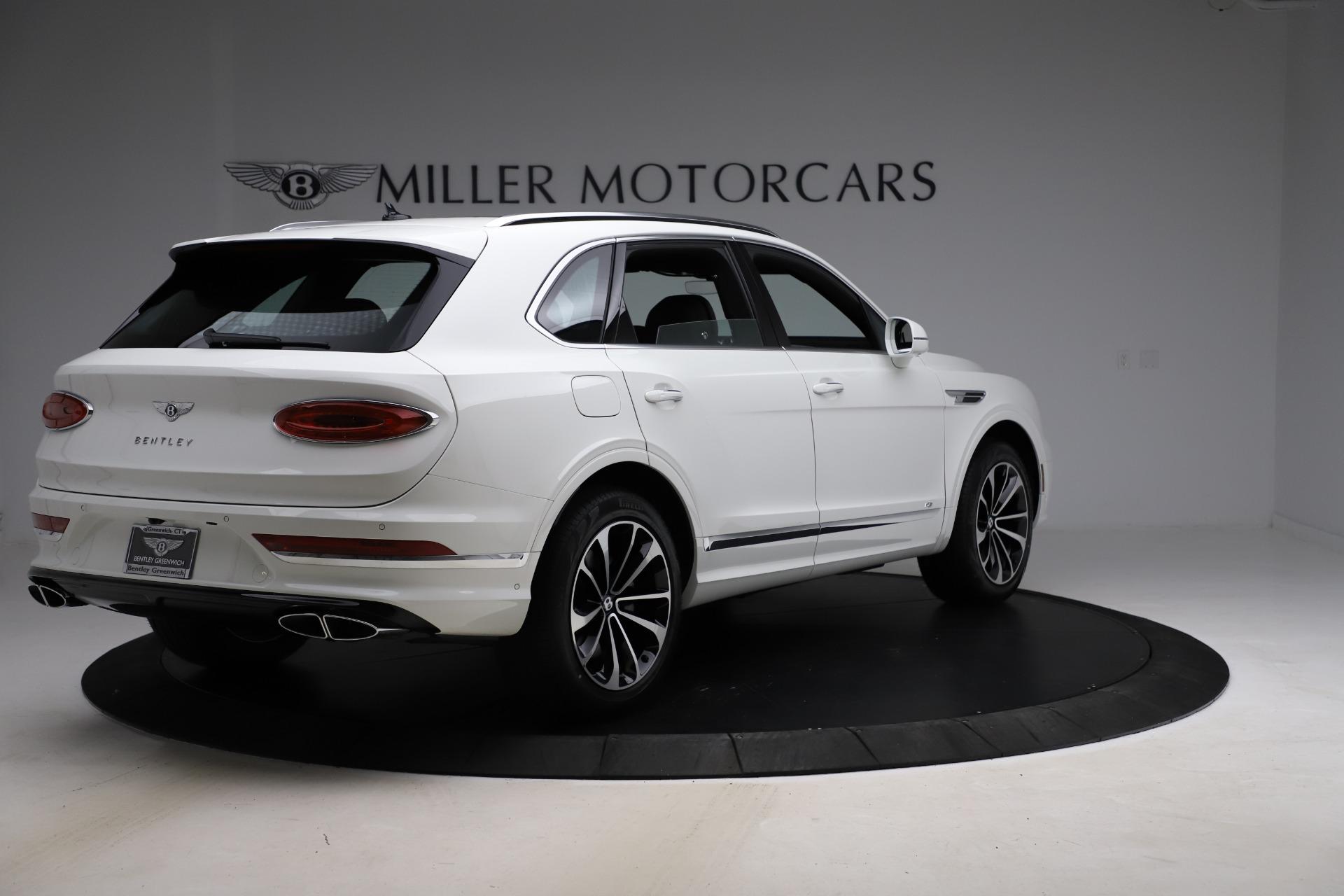New 2021 Bentley Bentayga V8 For Sale Miller Motorcars Stock B1541