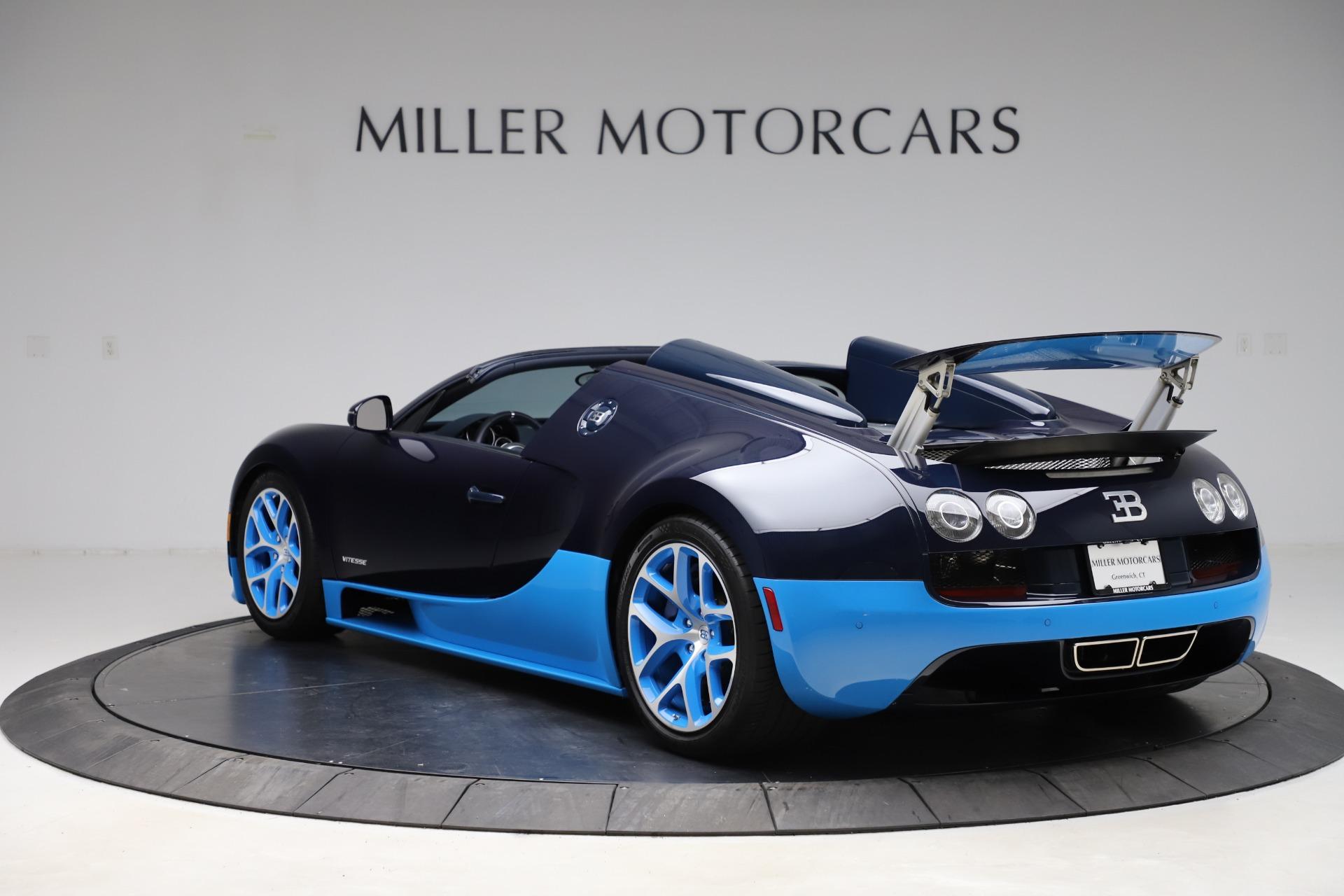 Pre-Owned 2014 Bugatti Veyron 16.4 Grand Sport Vitesse For Sale () | Miller Motorcars Stock #8040C