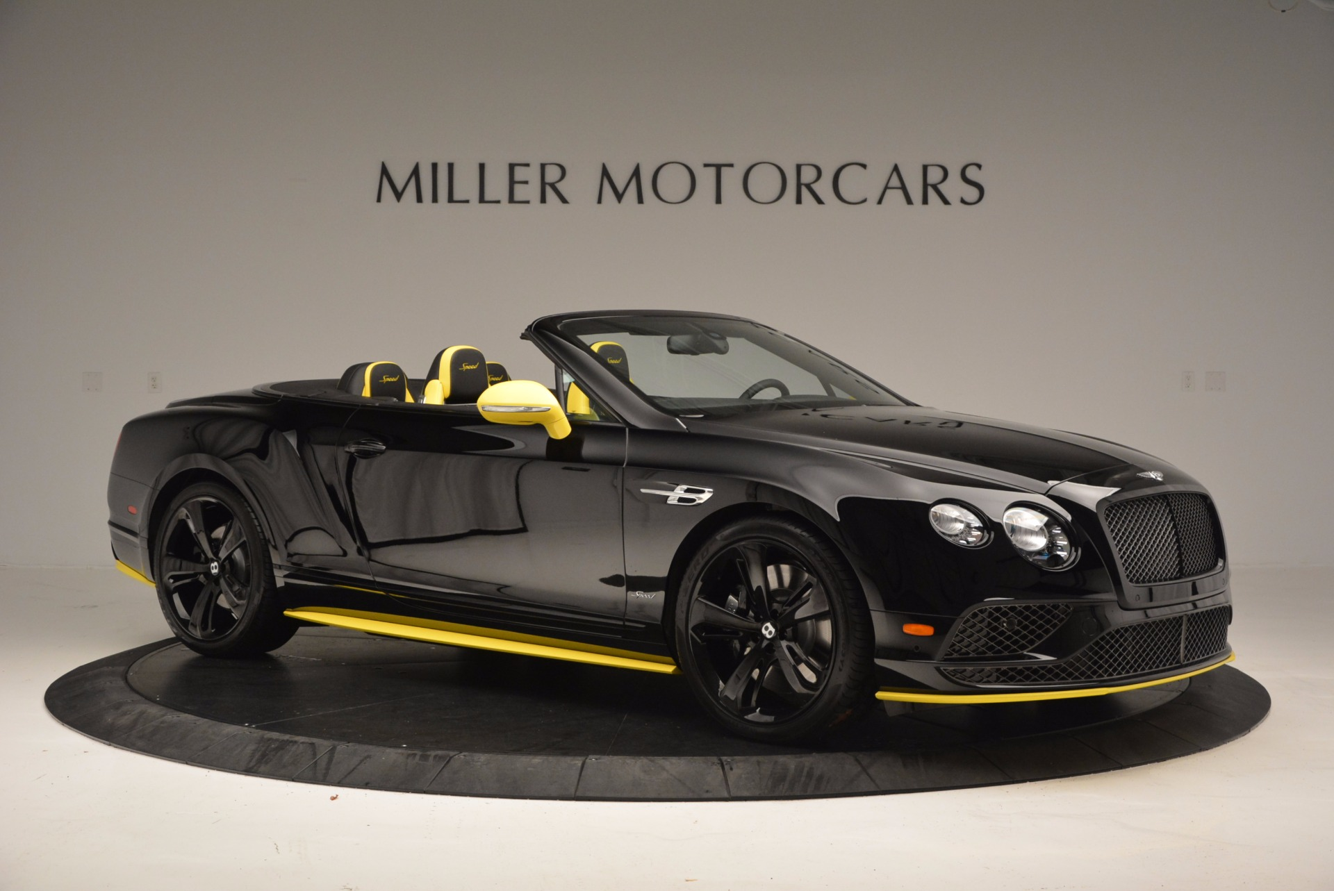 New 2017 Bentley Continental Gt Speed Black Edition Convertible Gt Speed For Sale Miller Motorcars Stock B1188